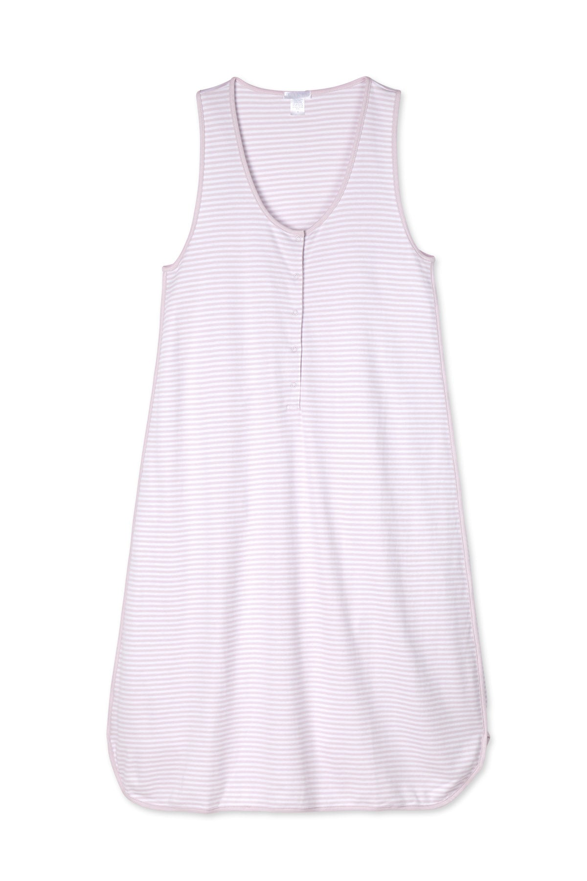 Pima Maternity Tank Gown in Lavender