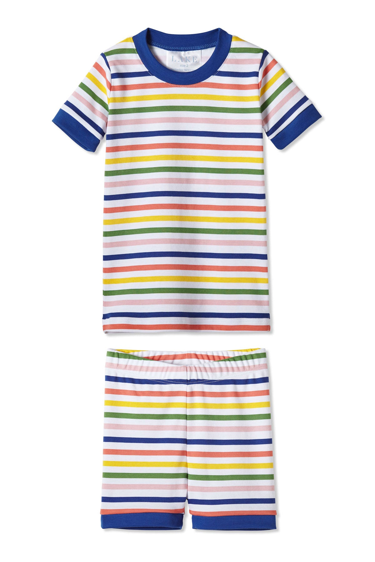Maisonette Stripe Kids Shorts Set