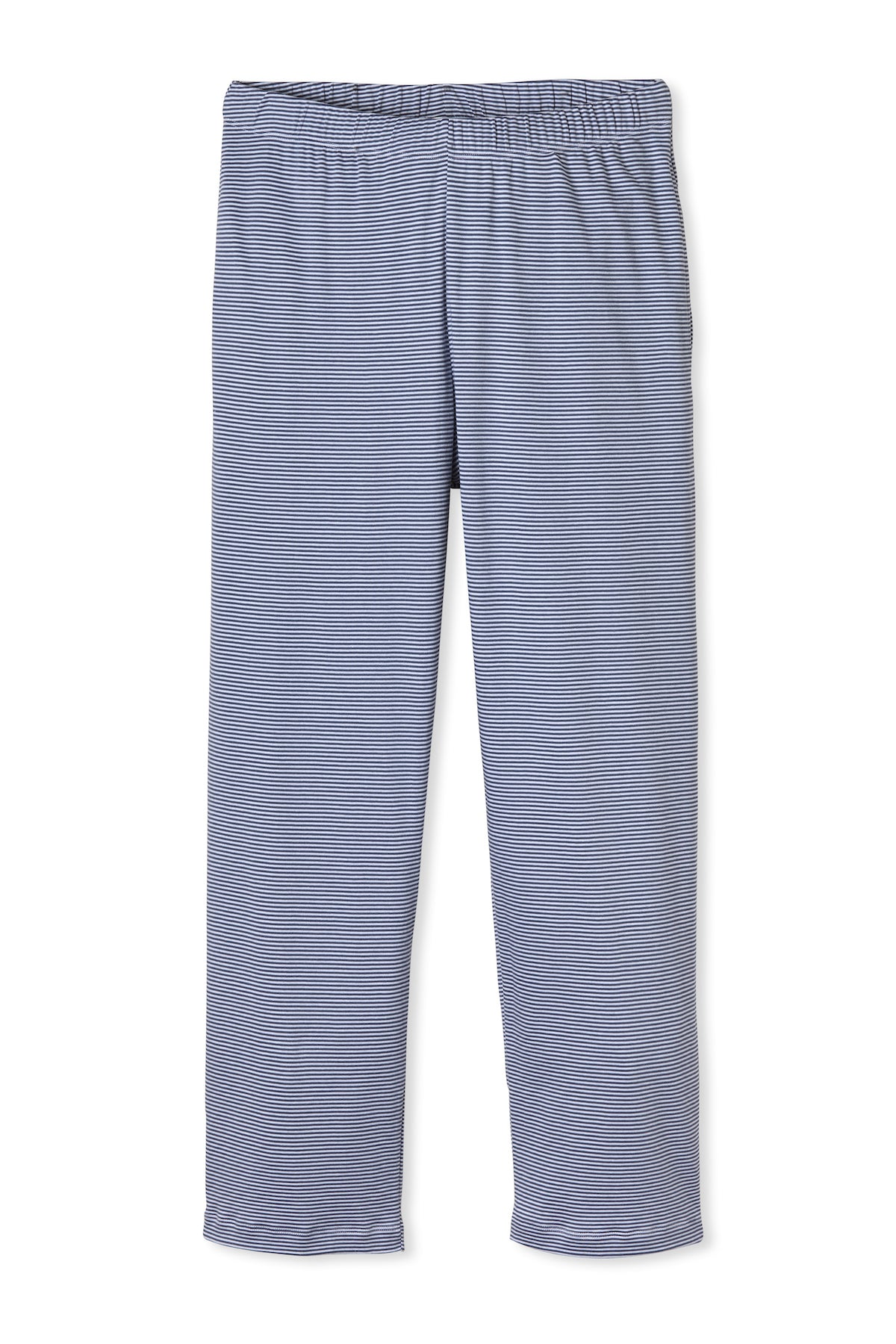 Men's Tall Pima Pajama Pants in True Navy