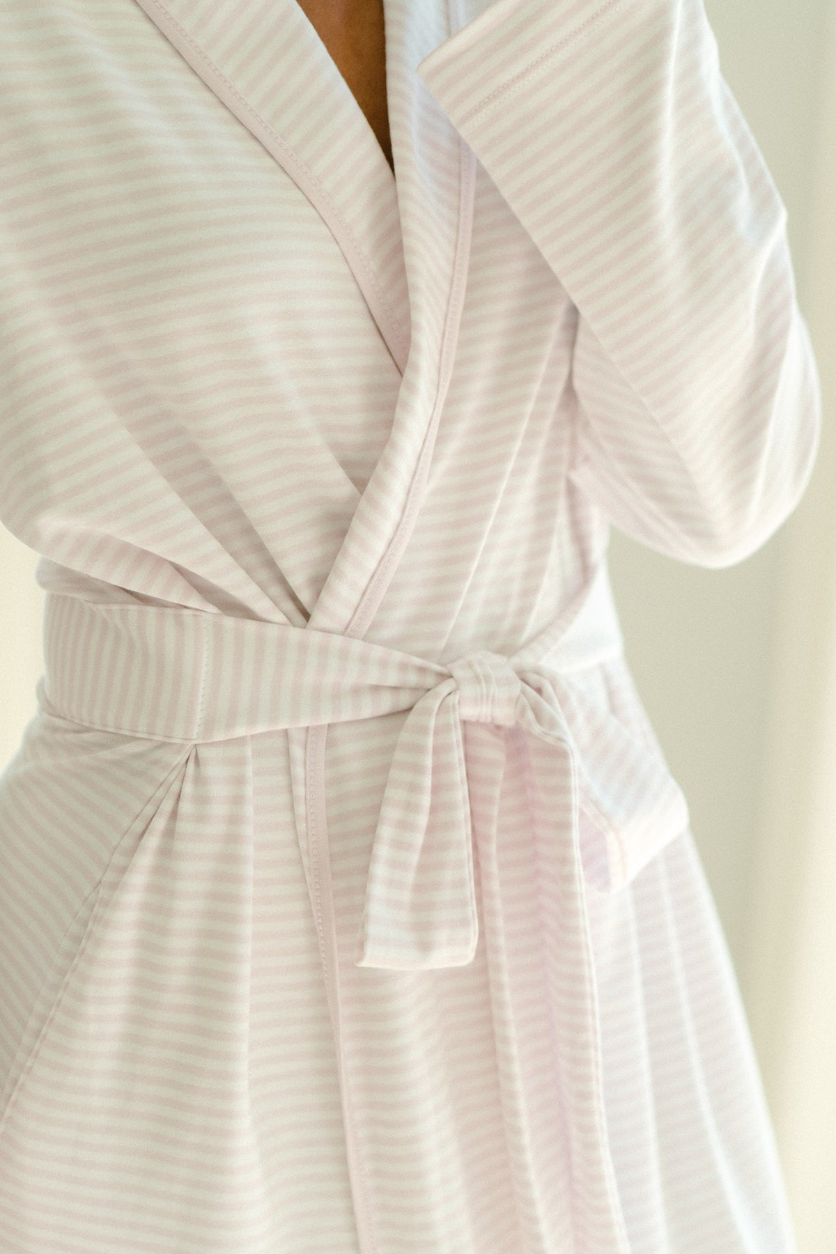 Pima Robe in Lavender
