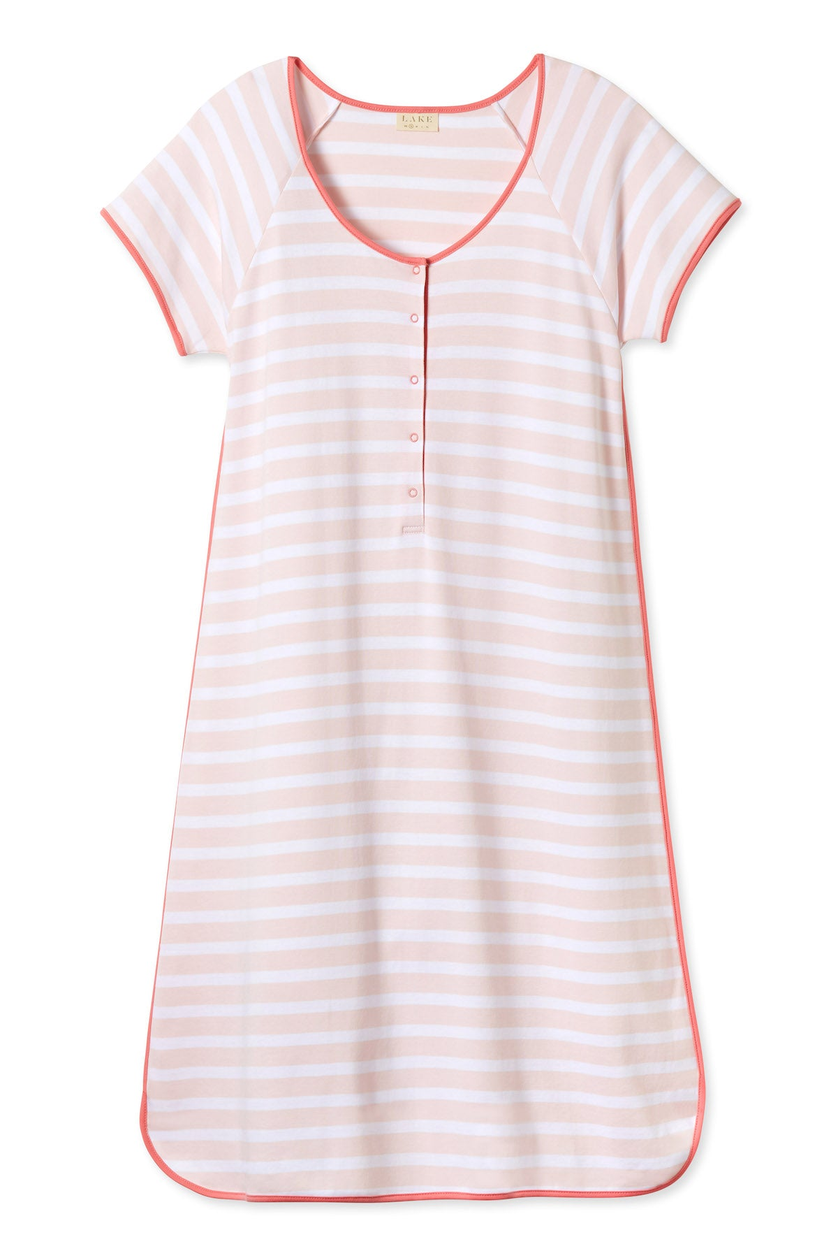 Pima Maternity Nightgown in Desert Rose