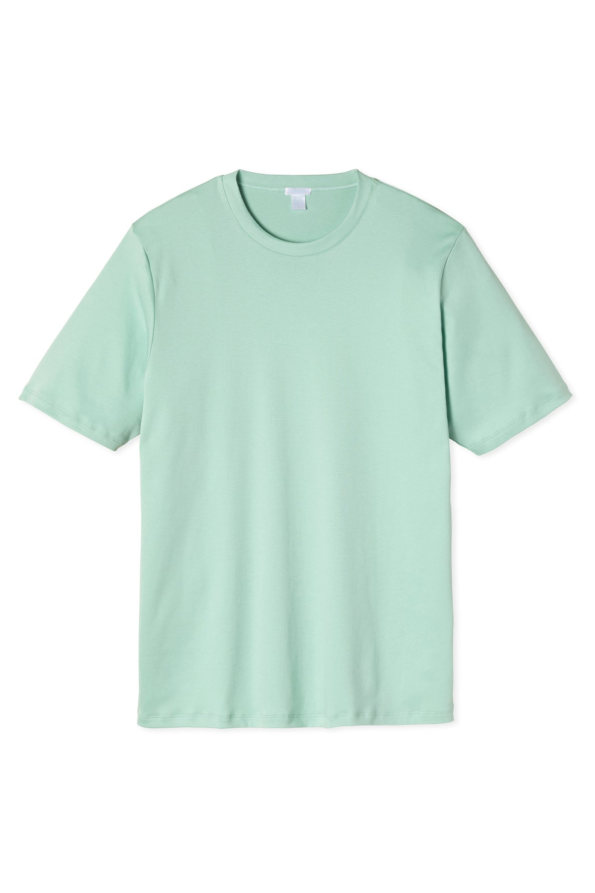 Men's Short Sleeve Pima Tee in Parisian Green