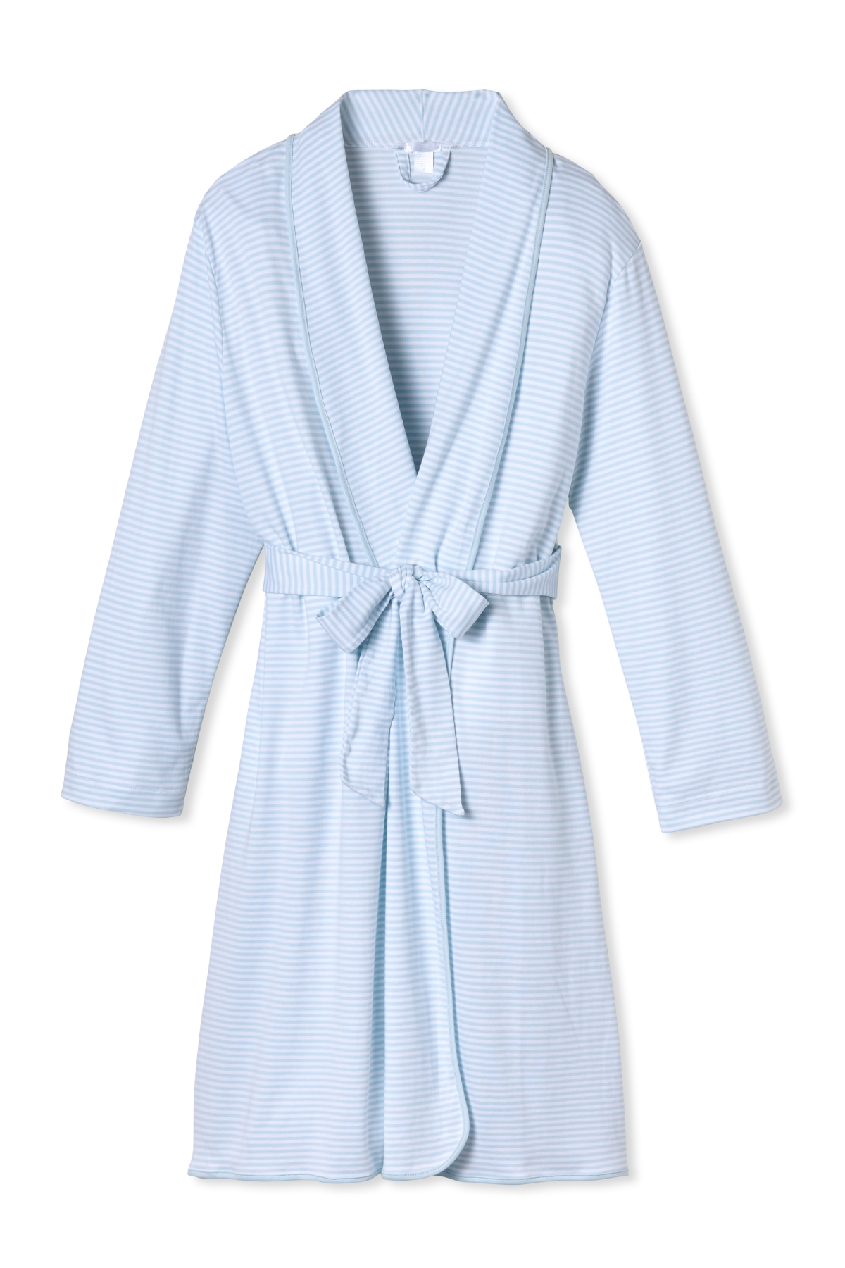 Pima Robe in Porcelain