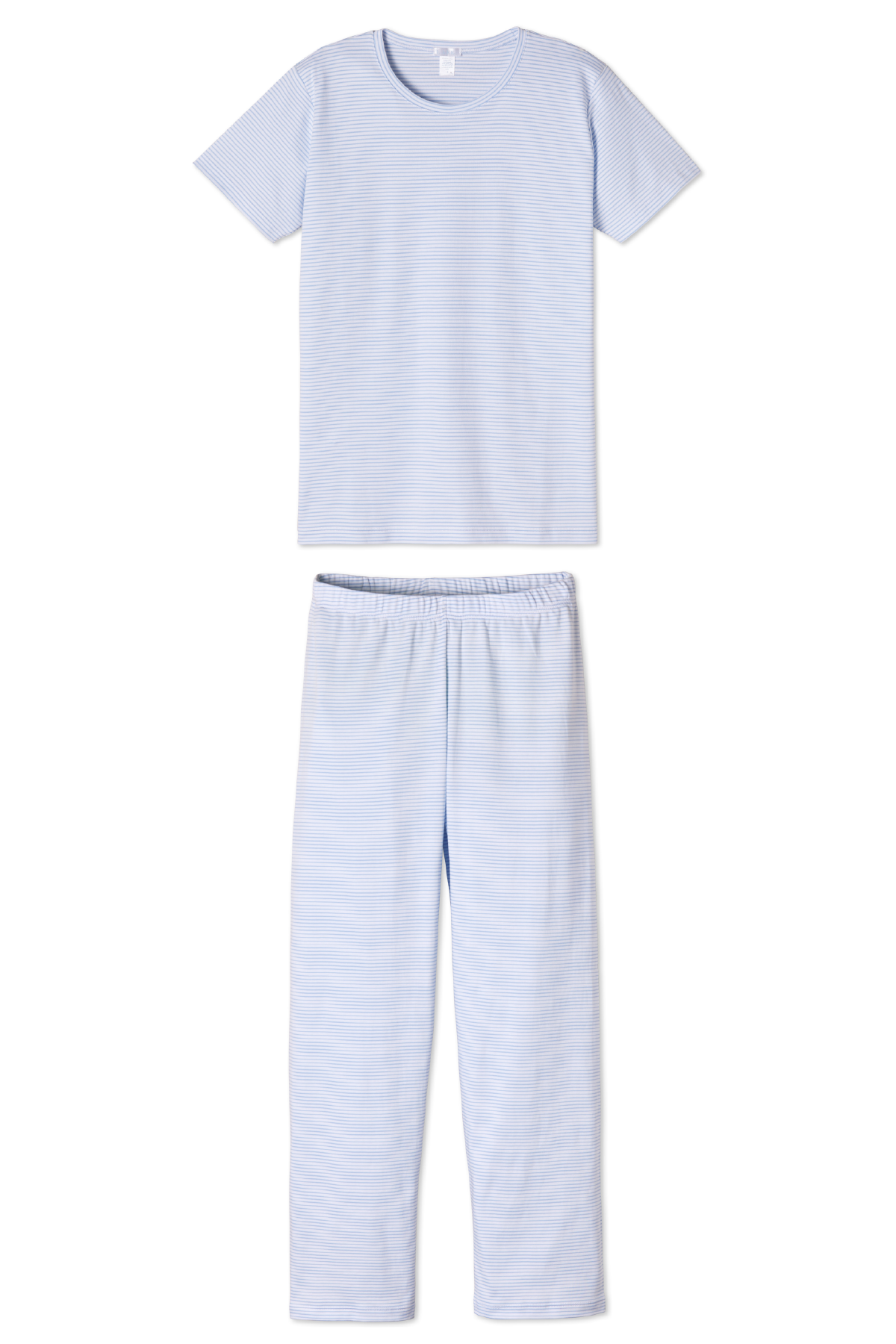 Pima Short-Long Weekend Set in French Blue