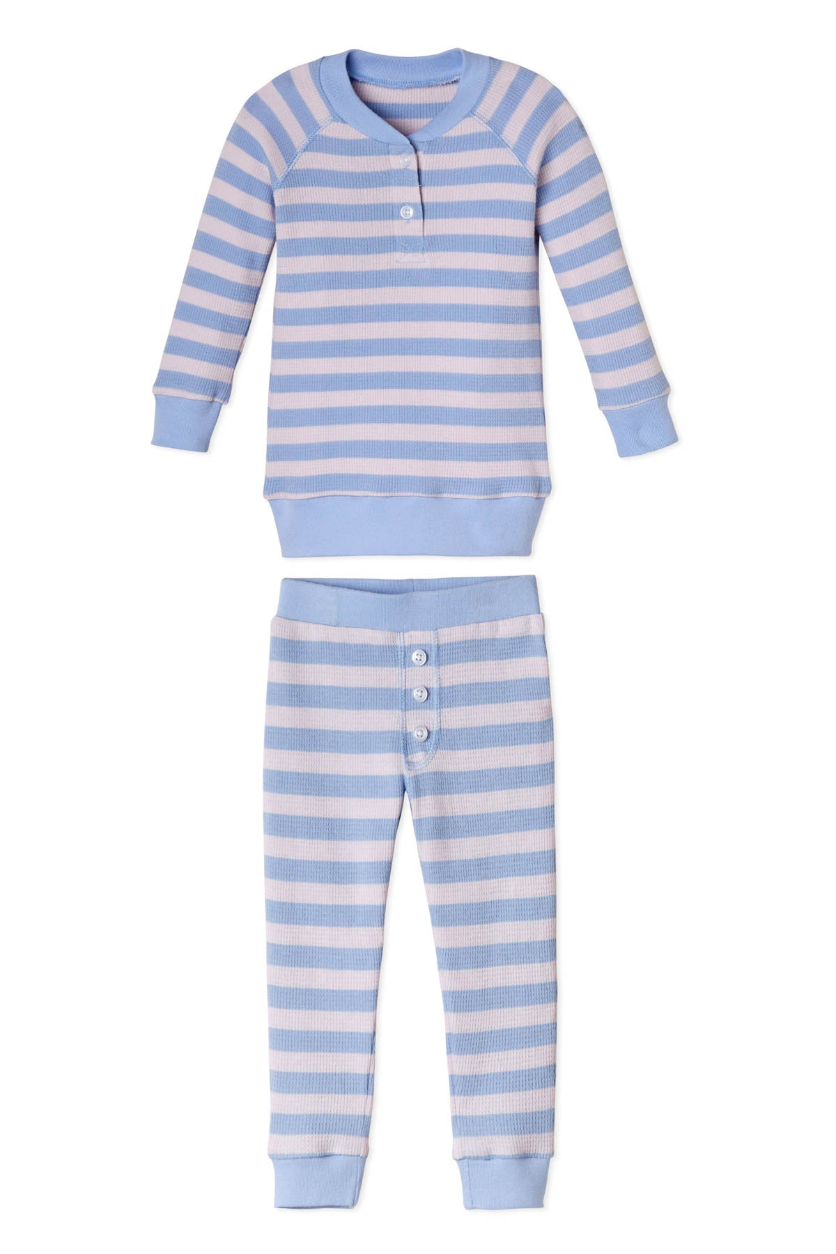 Cloud Kids Waffle Pants Set