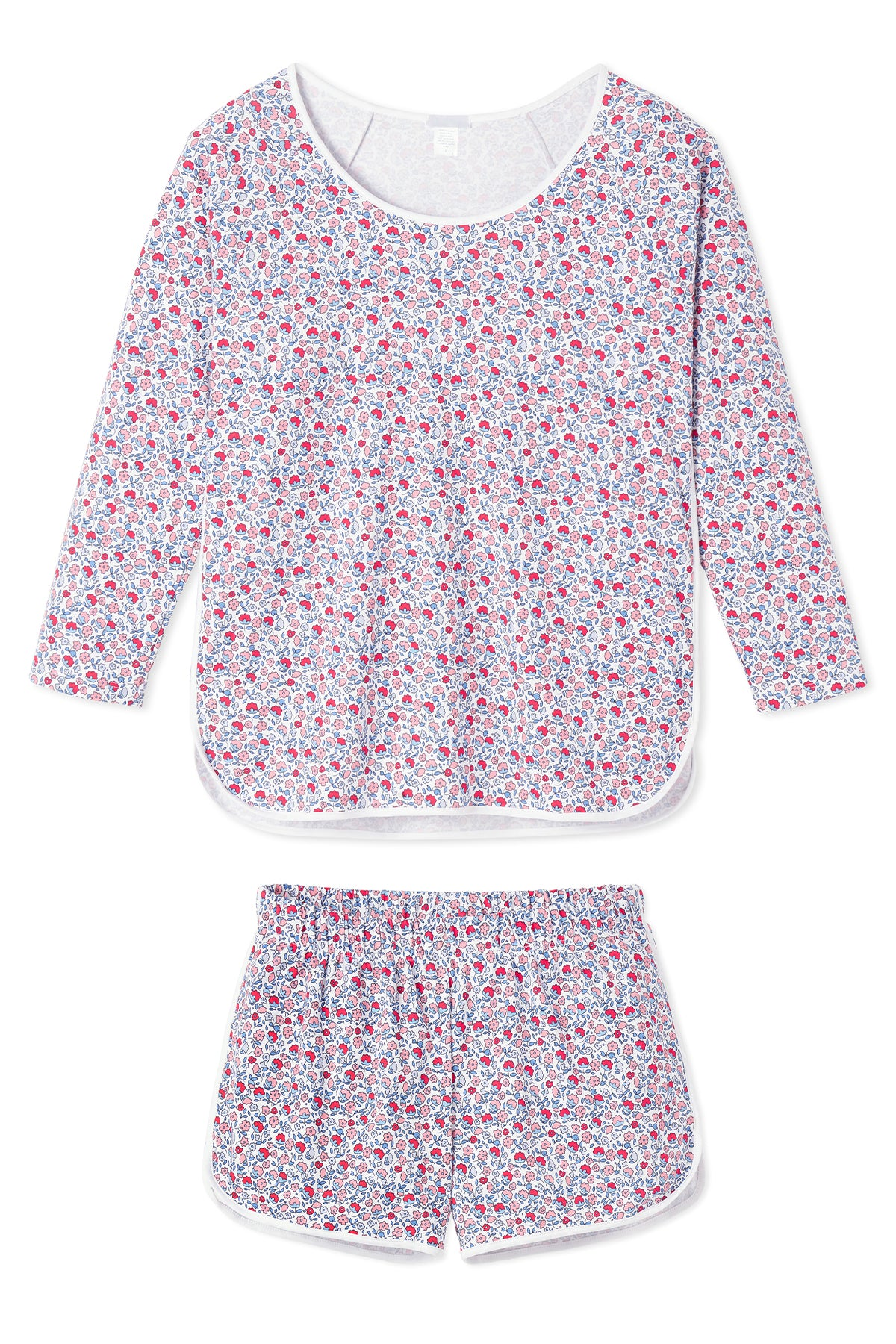 minnow x LAKE Pima Long-Short Set in Americana Floral