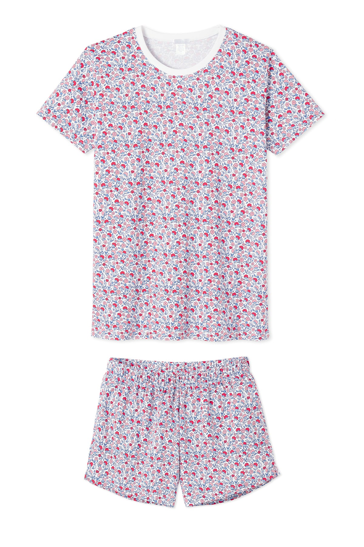minnow x LAKE Pima Weekend Shorts Set in Americana Floral