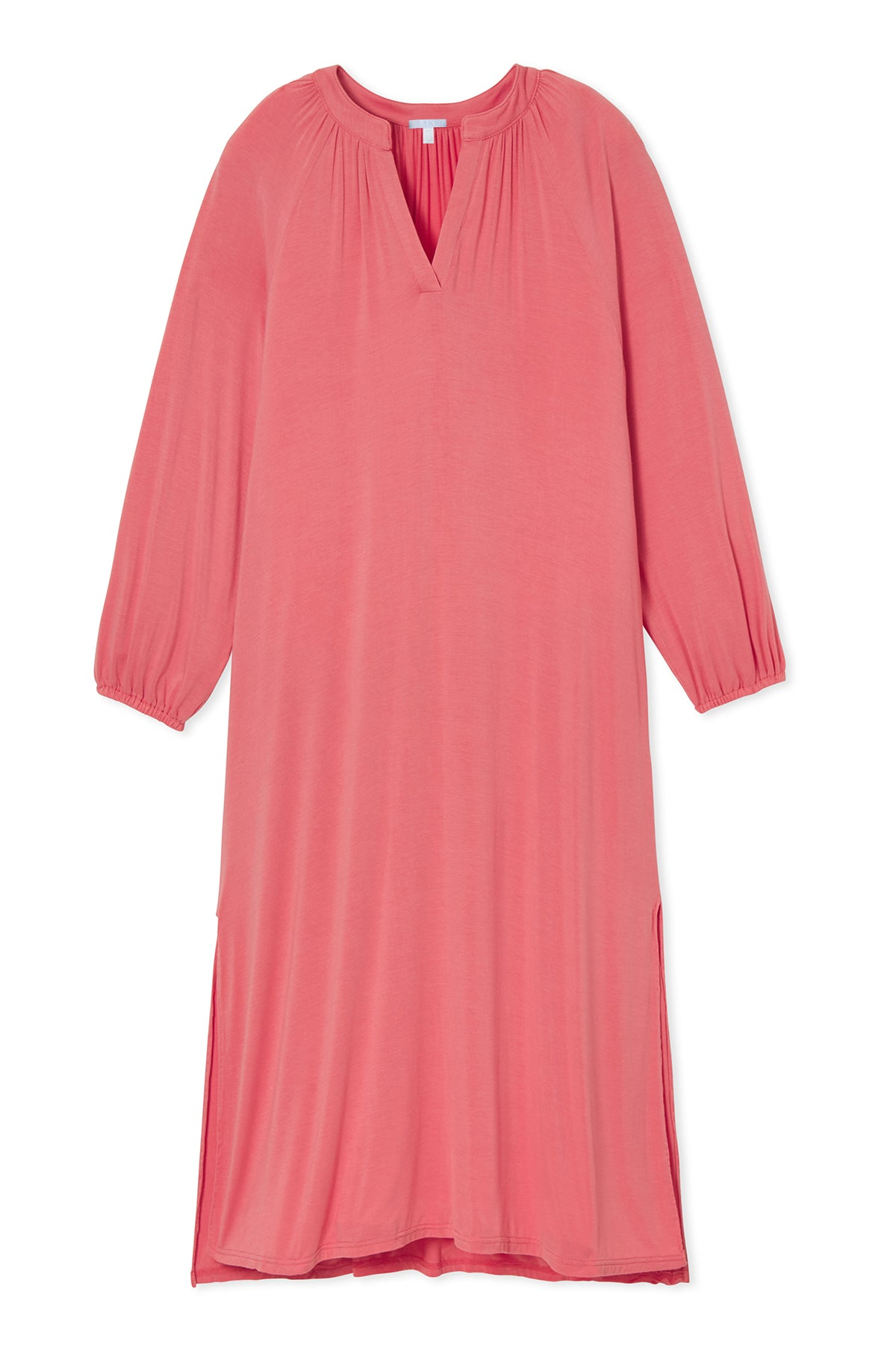Blouson Nightgown in Persimmon