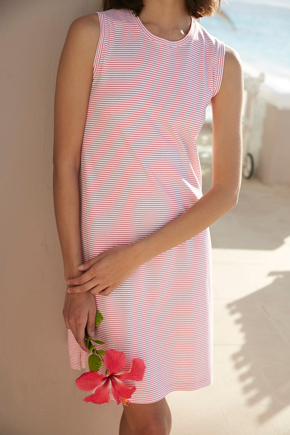 Pima Weekend Tank Gown in Bougainvillea