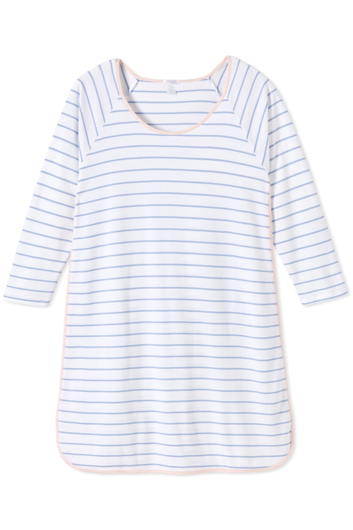 Pima Long Sleeve Nightgown in Caravan