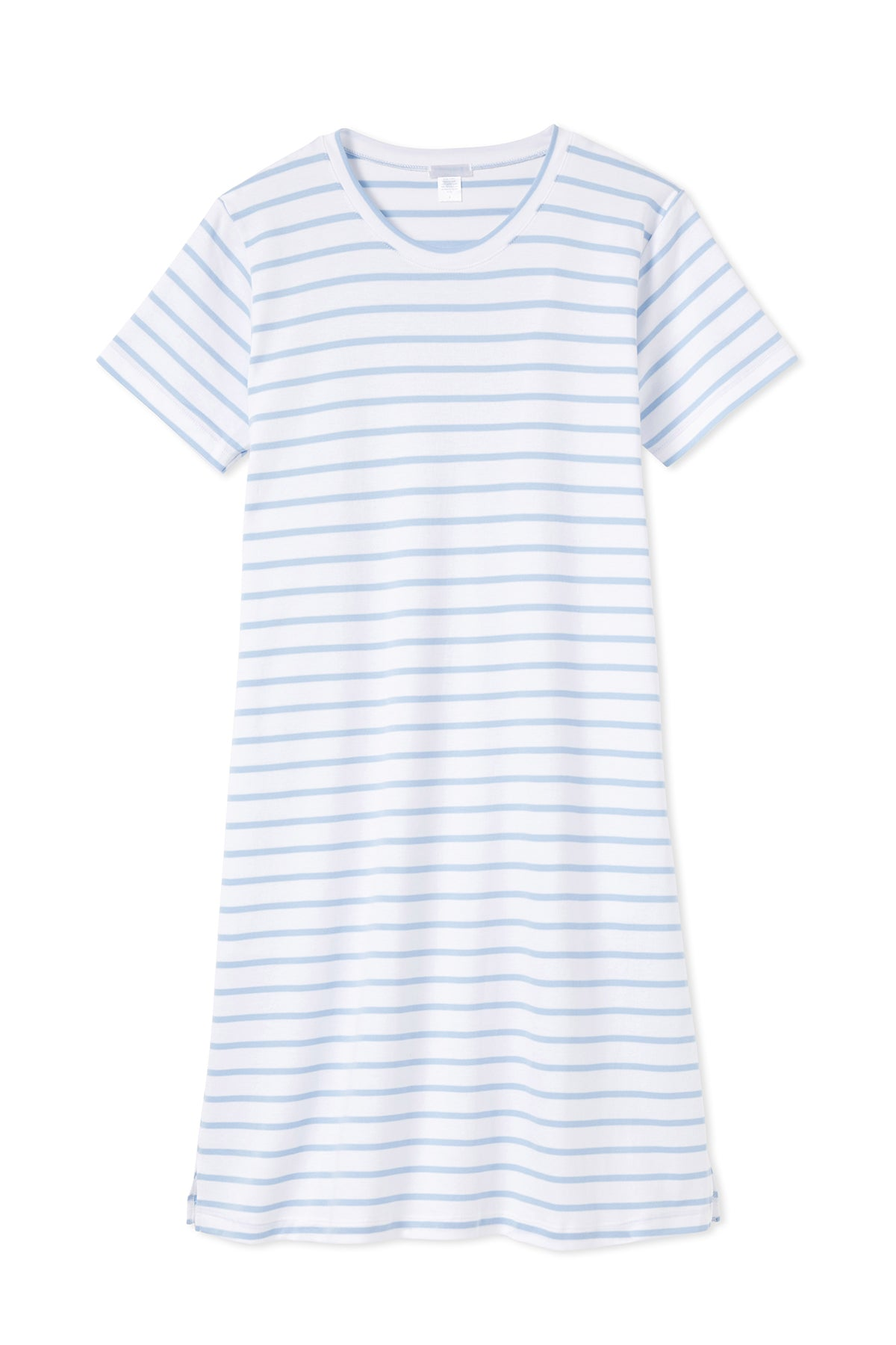 Pima Weekend Nightgown in Cerulean