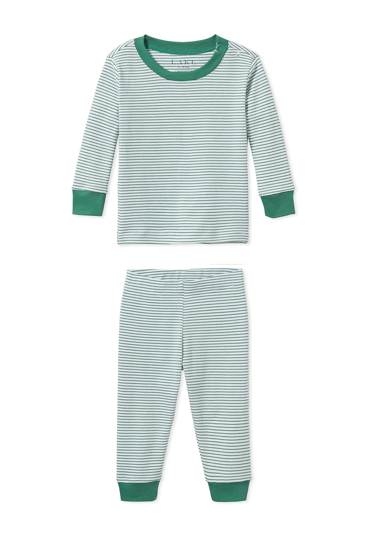Baby Long-Long Set in Classic Green
