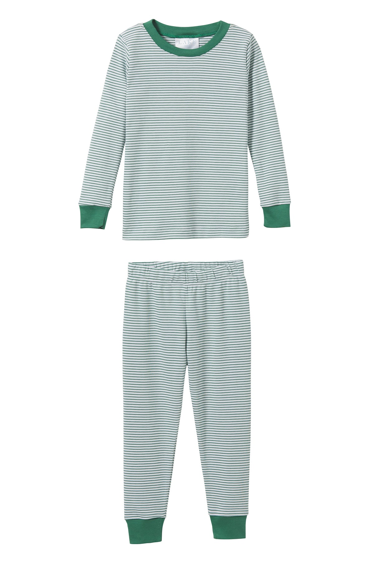 Kids Long-Long Set in Classic Green