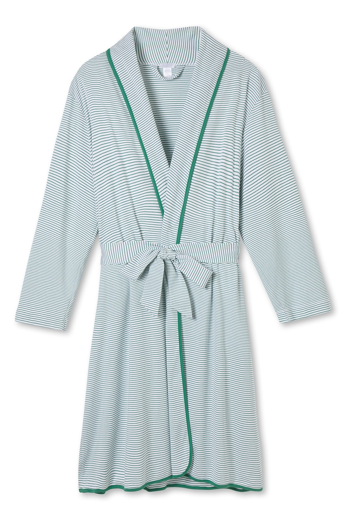 Pima Robe in Classic Green