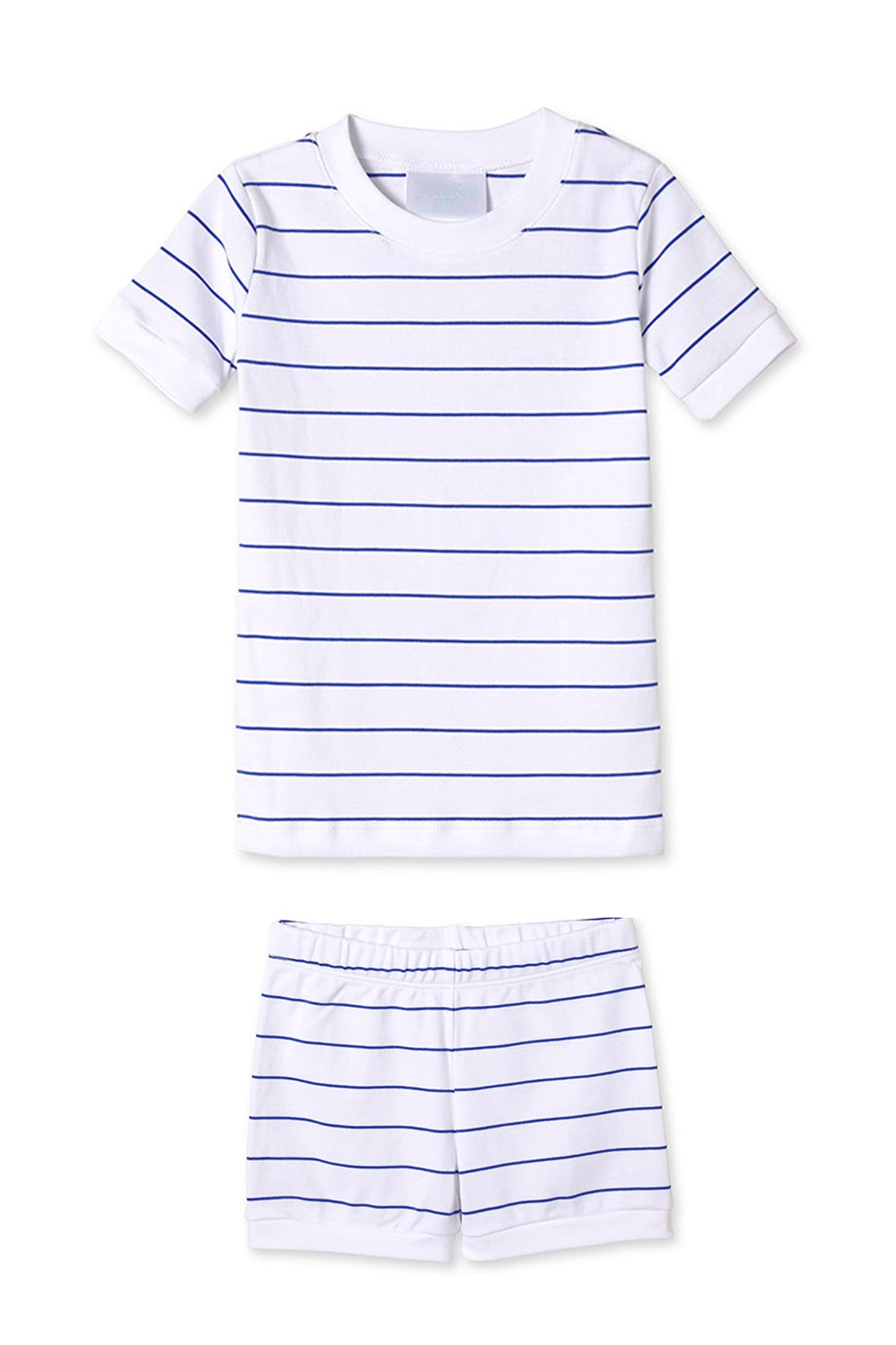Kids Shorts Set in Cobalt