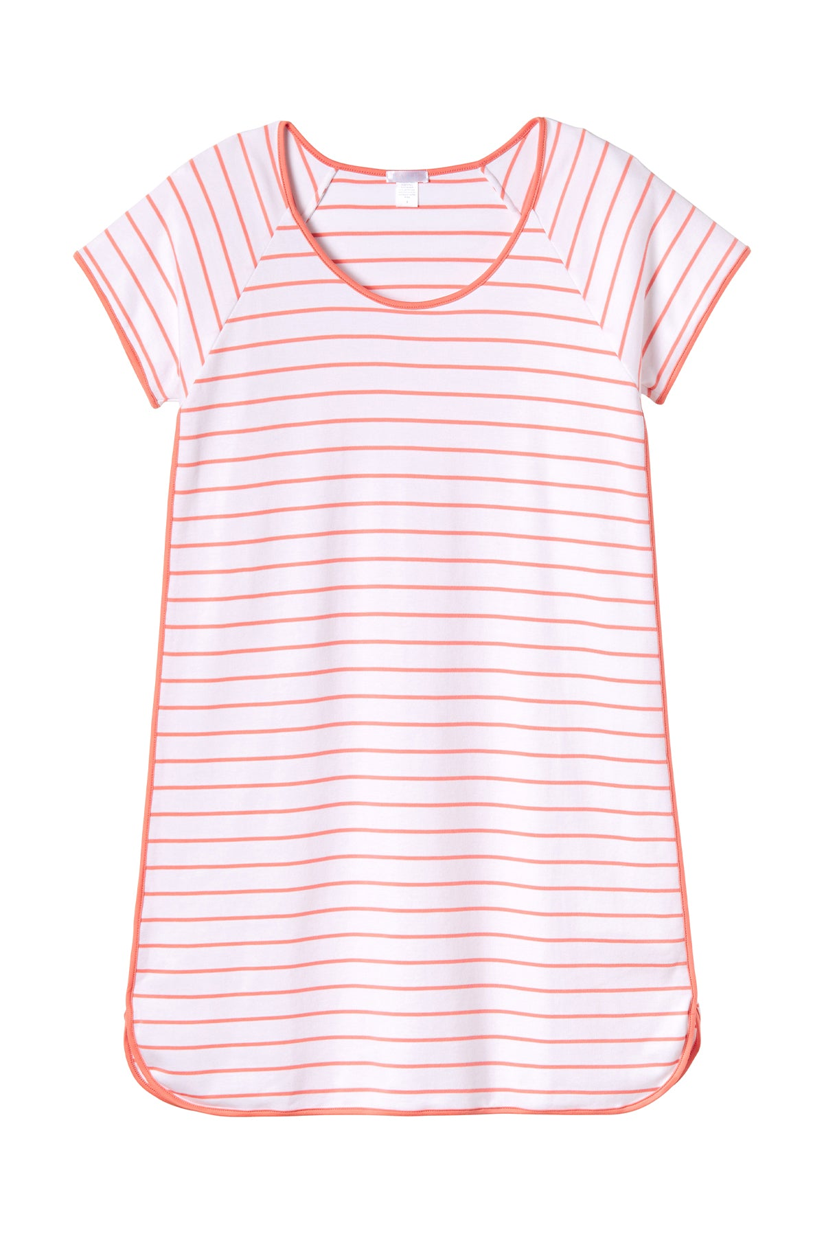 Pima Nightgown in Coral