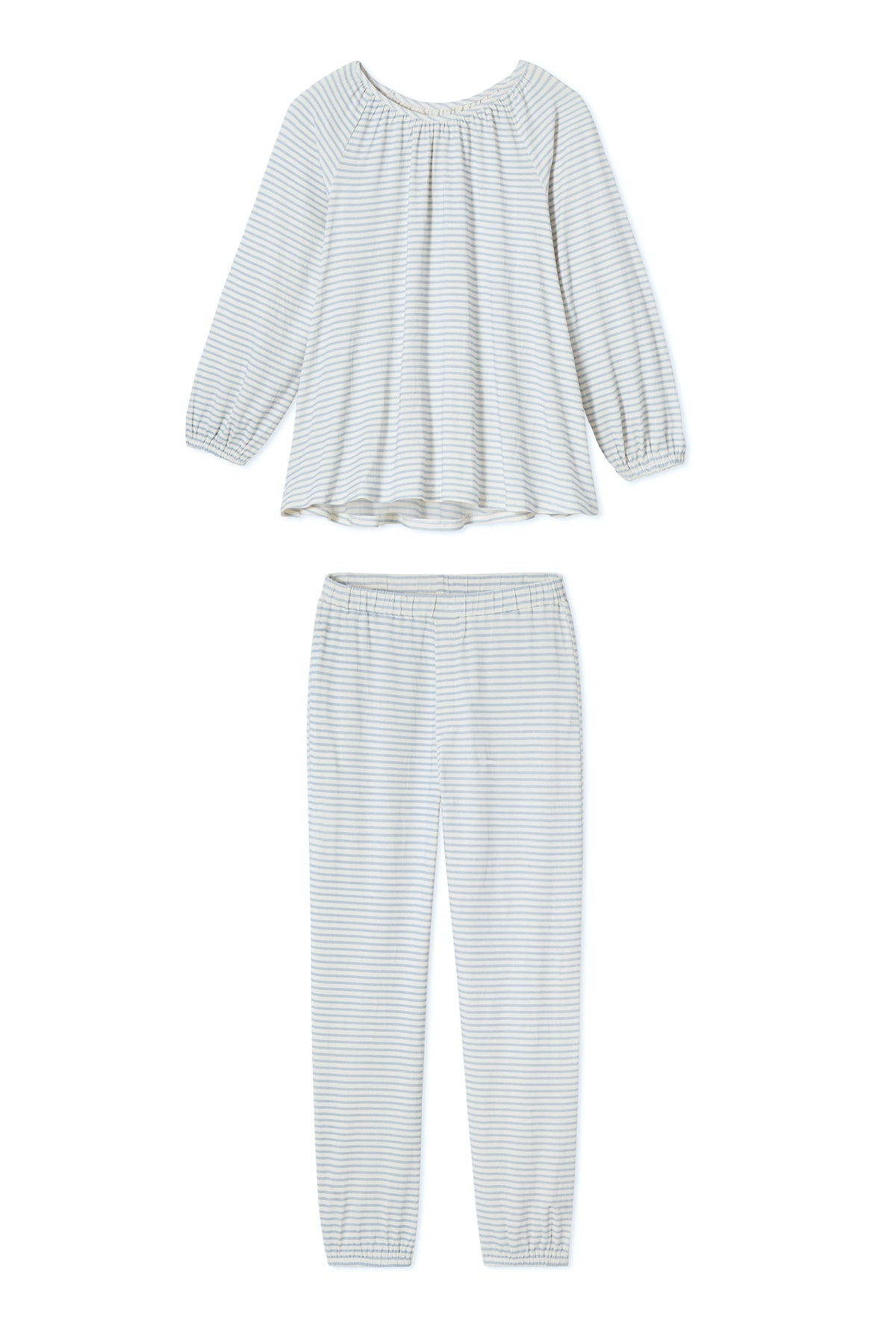 Cloud Pajama Set in Fog