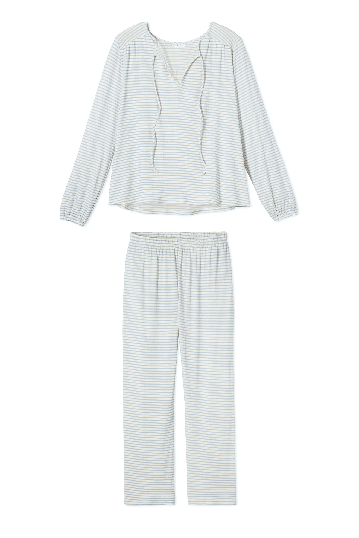 Midnight Pajama Set in Fog