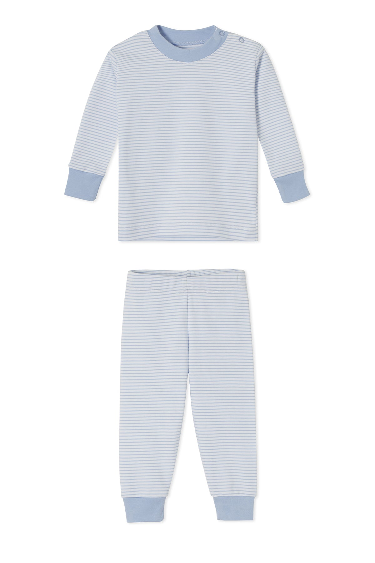 Baby Long-Long Set in French Blue
