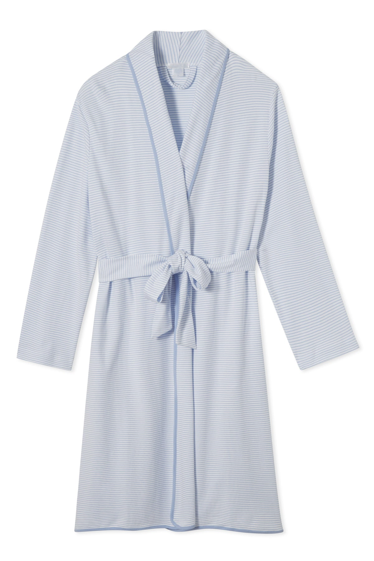 Pima Robe in French Blue