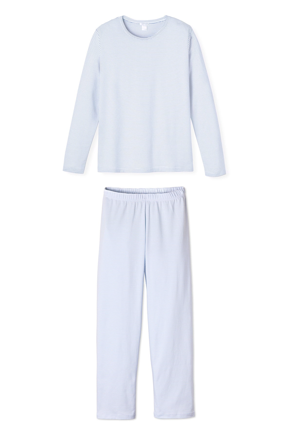 Pima Long-Long Weekend Set in French Blue