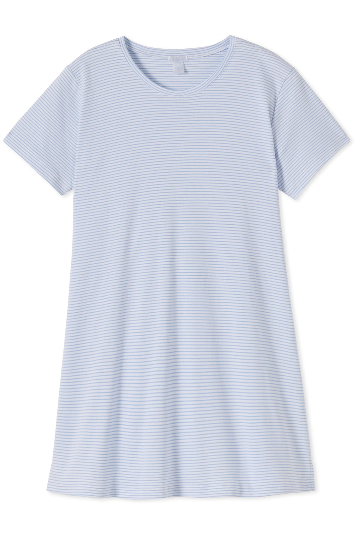 Pima Maternity Weekend Nightgown in French Blue