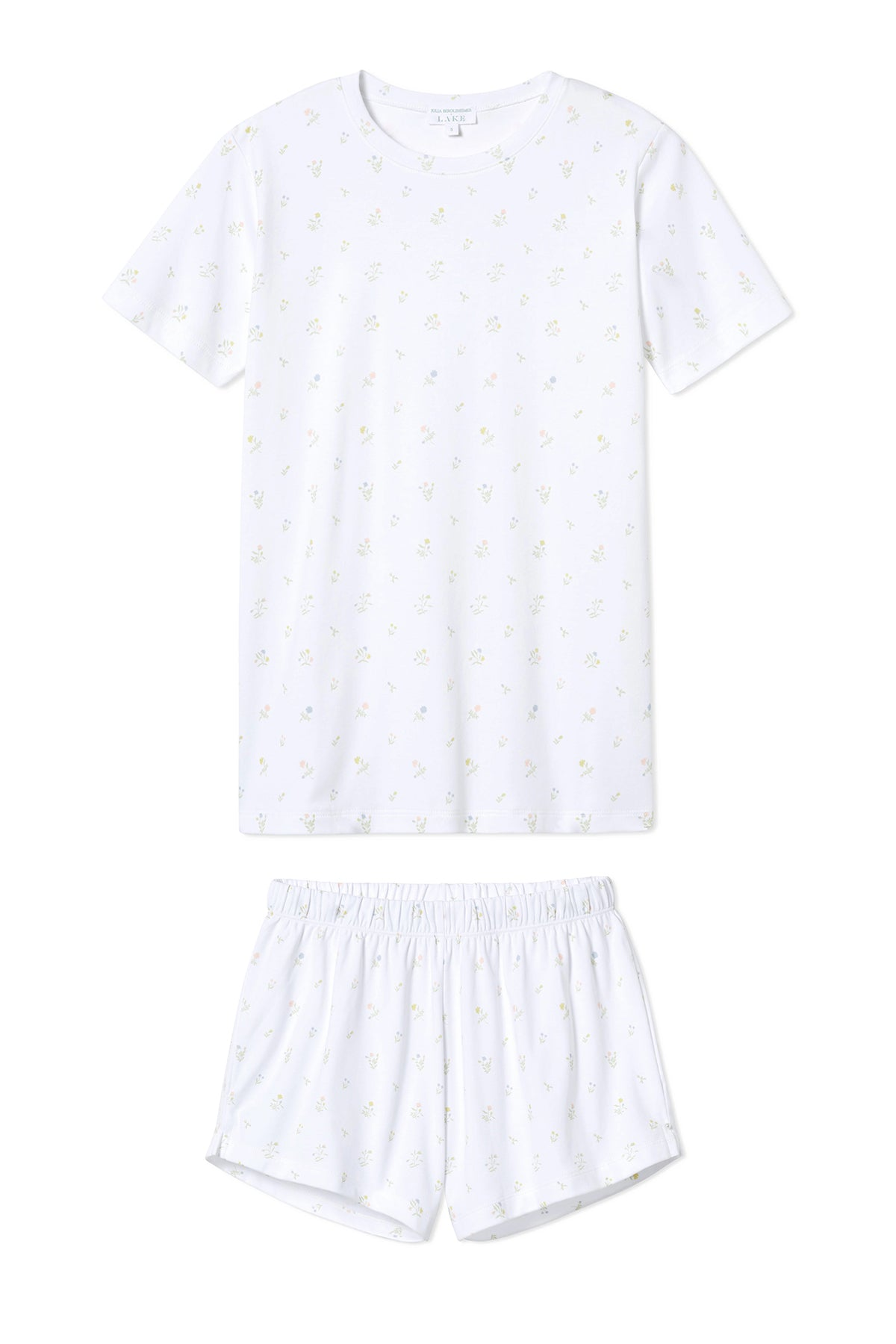JB x LAKE Pima Weekend Shorts Set in Garden Bloom