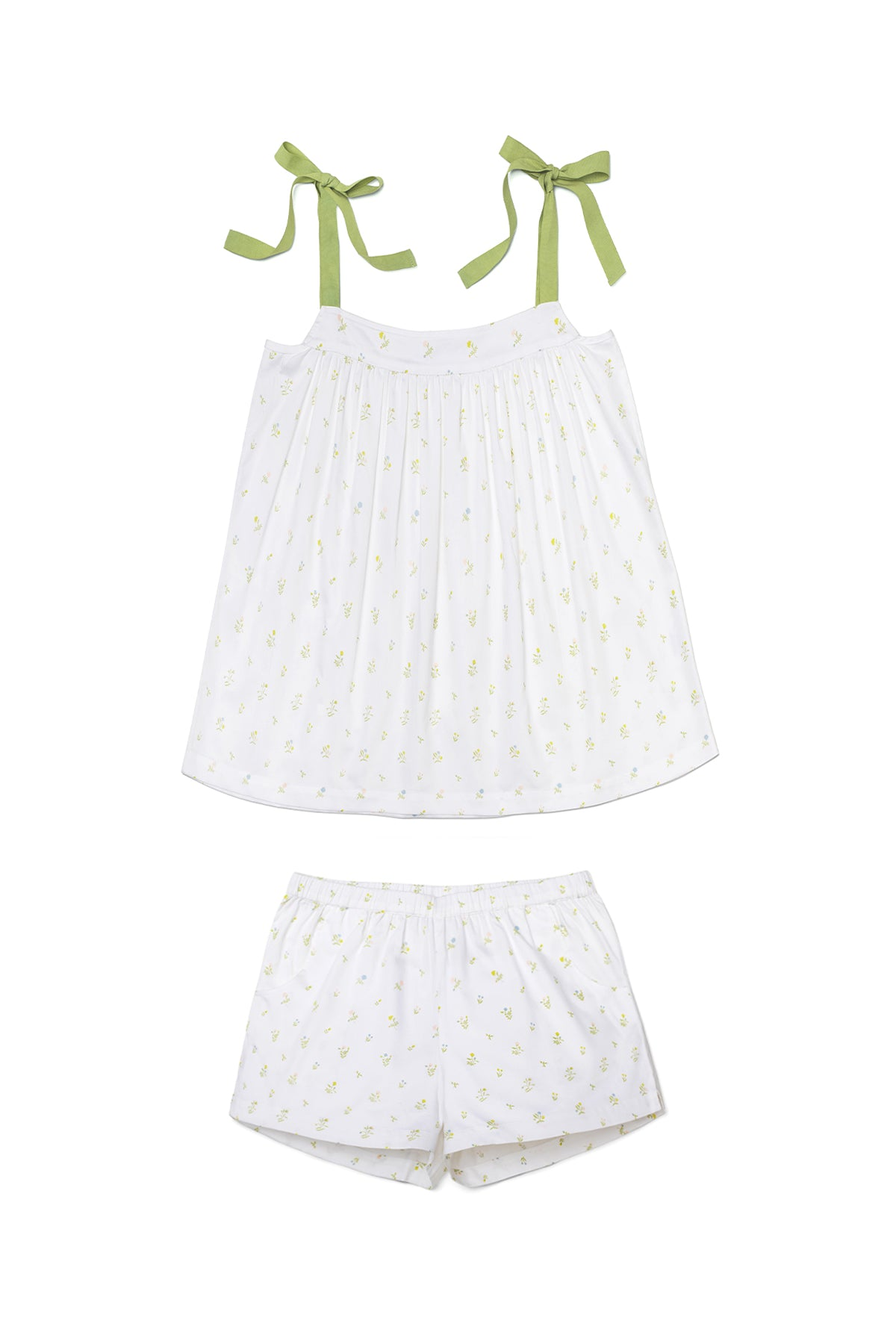 JB x LAKE Day Shorts Set in Garden Bloom