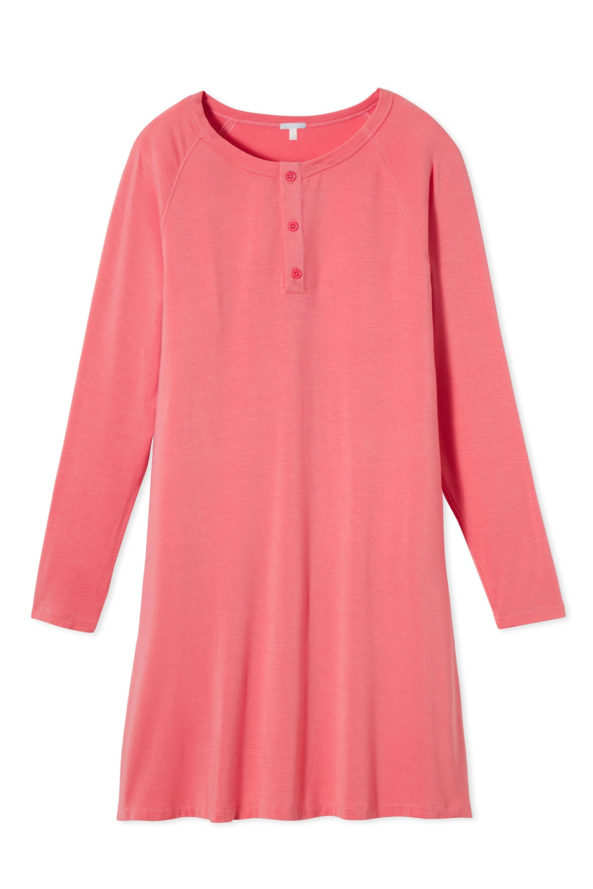 Henley Nightgown in Persimmon