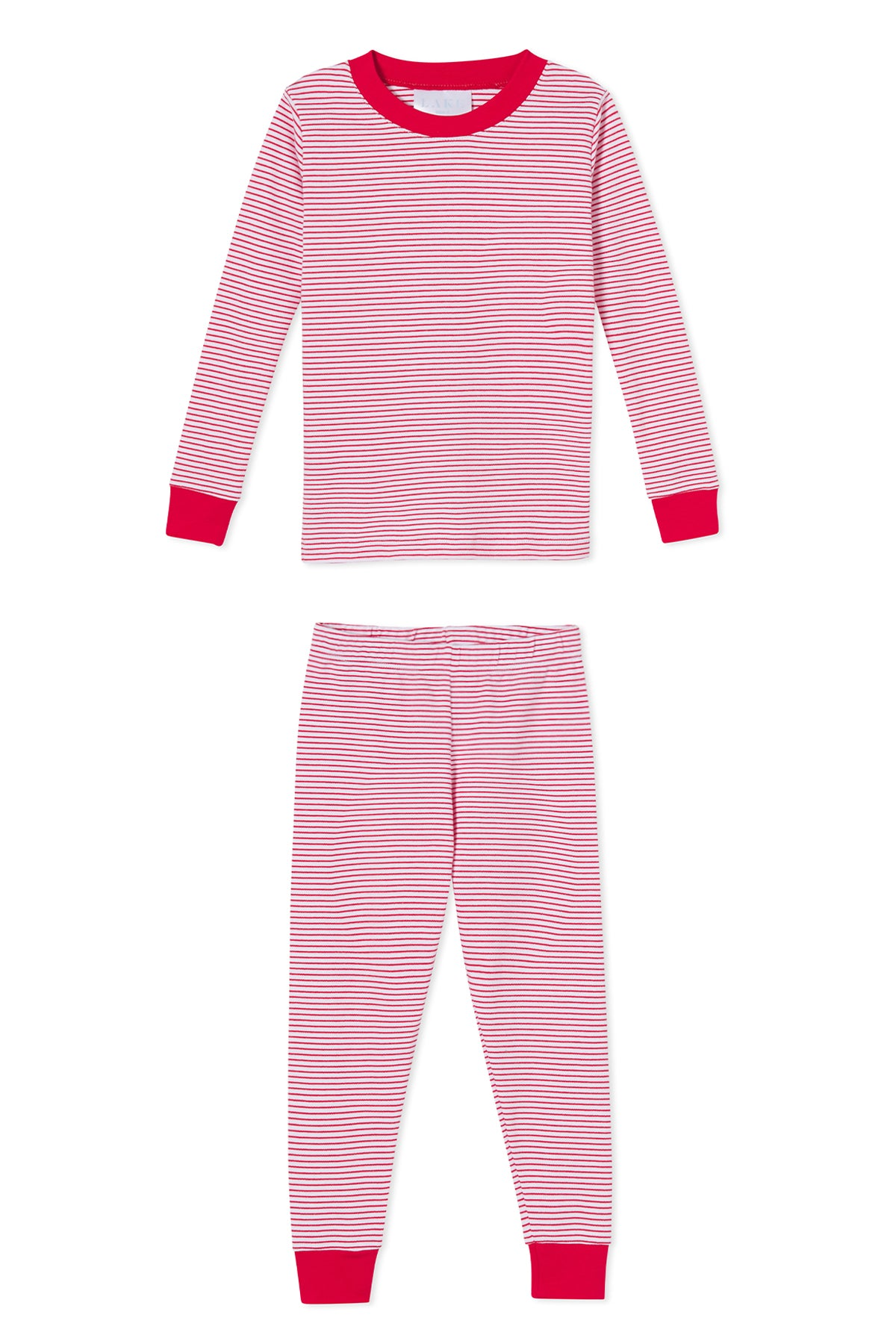 Pre-Order Kids Long-Long Set in Classic Red
