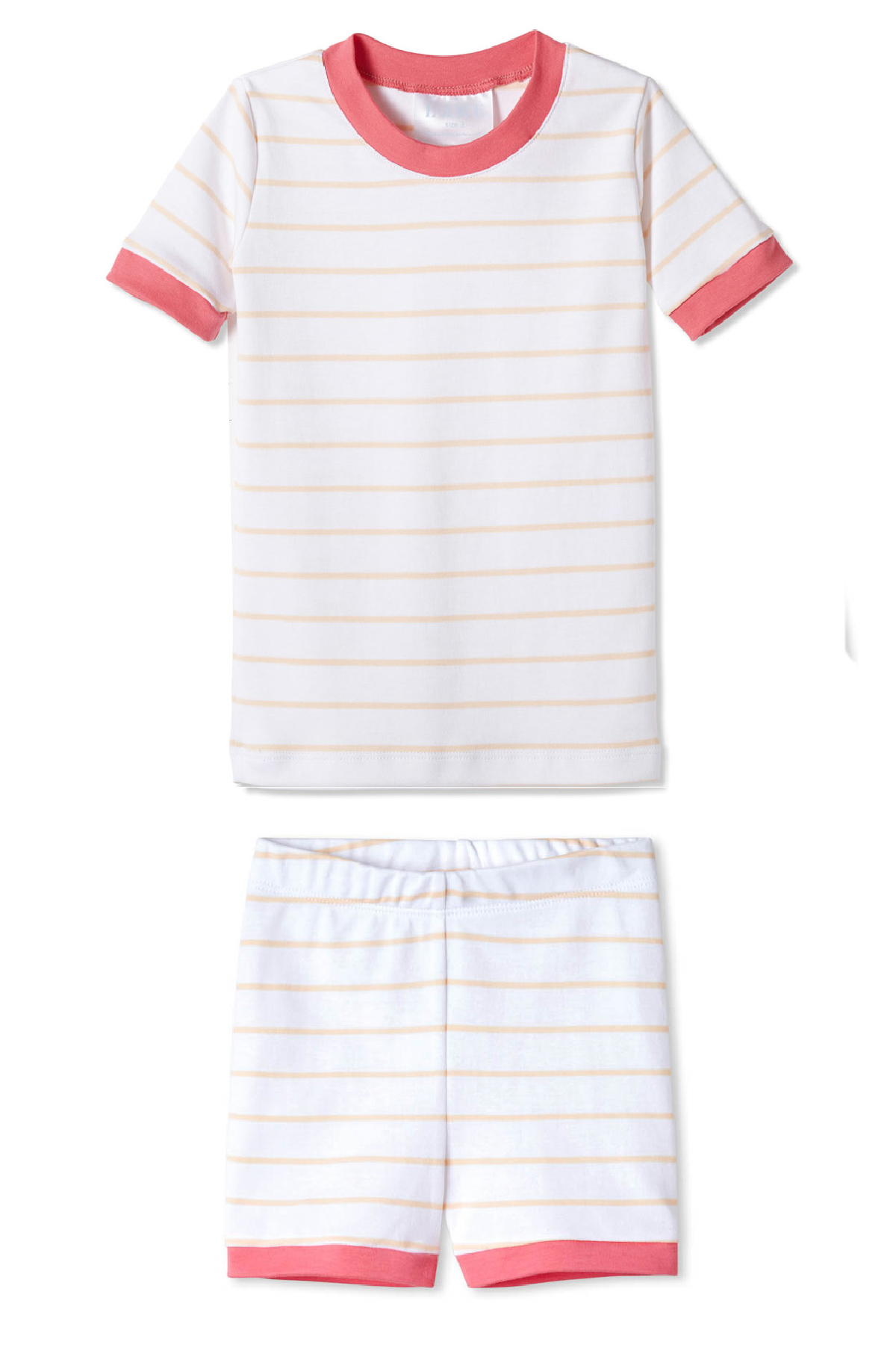 Kids Shorts Set in Shell