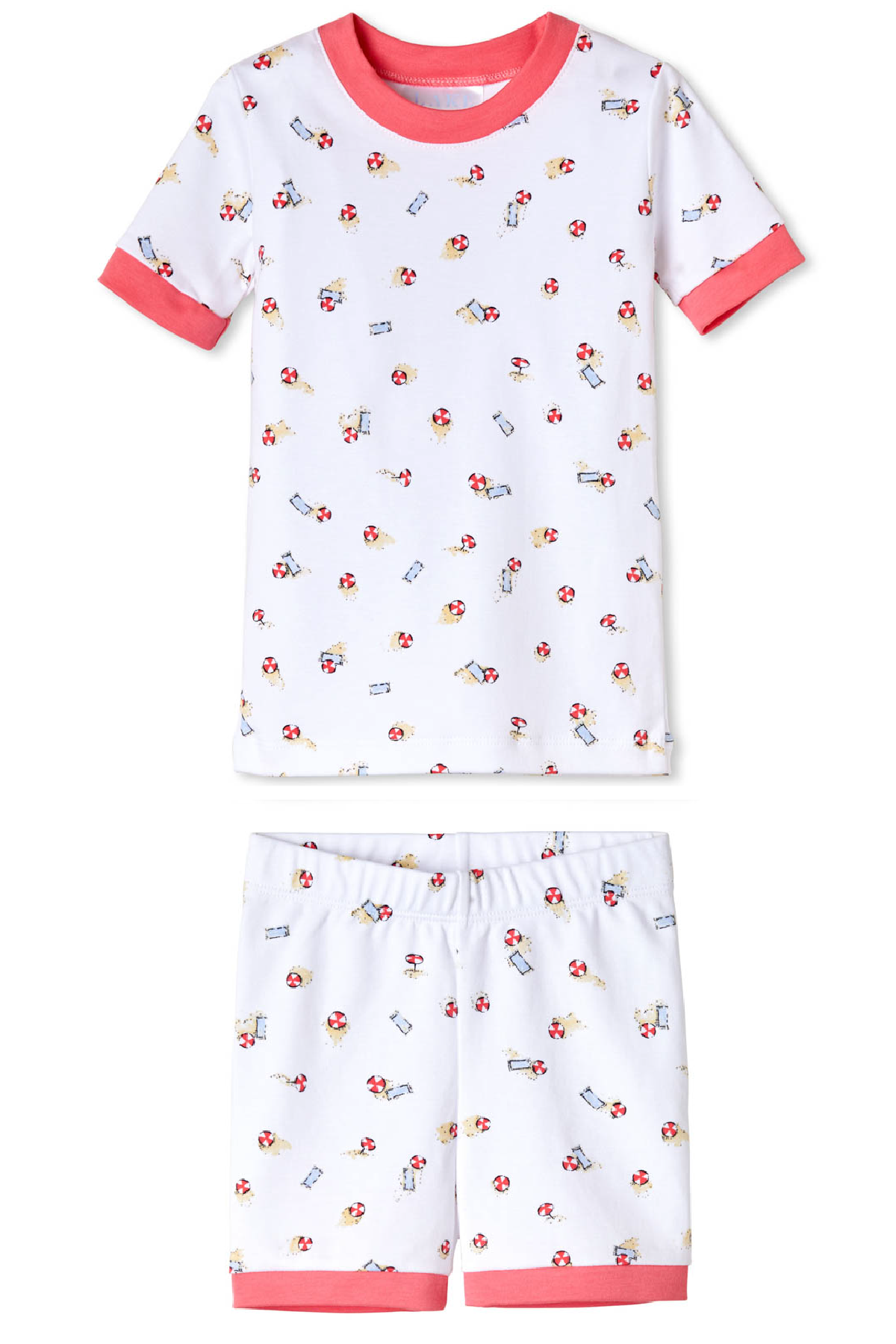 Kids Shorts Set in Umbrella