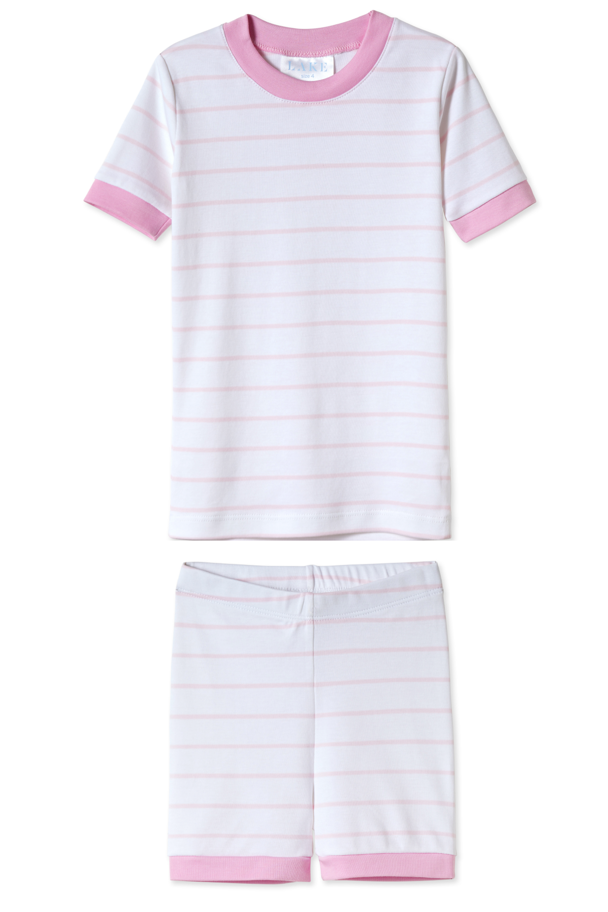 Kids Shorts Set in Peony