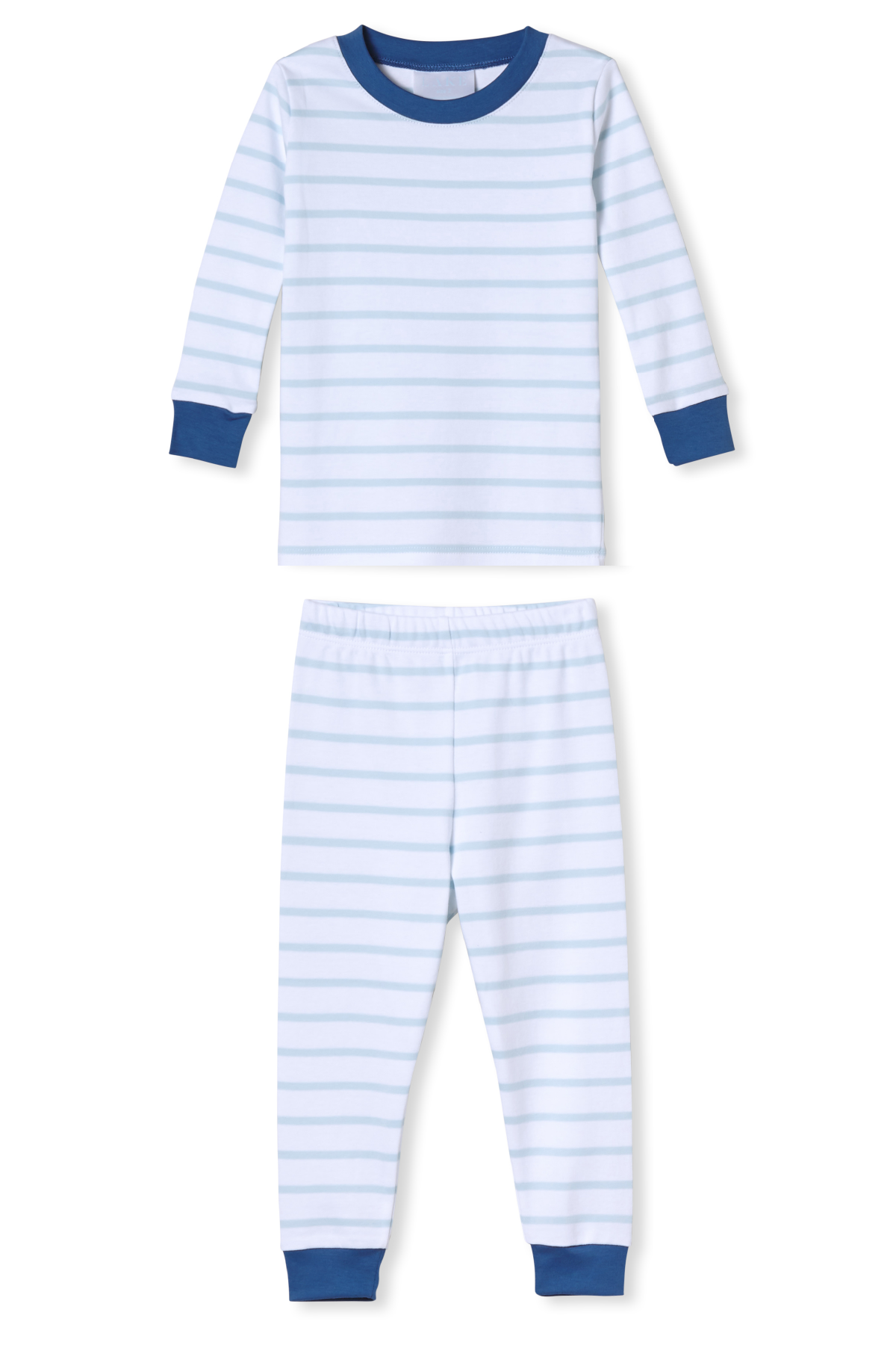 Kids Long-Long Set in Oxford Blue