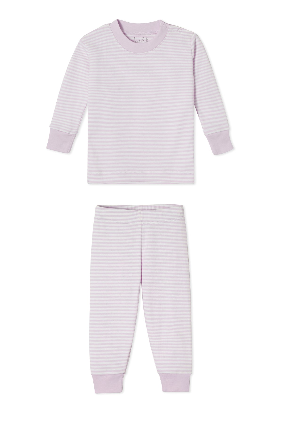 Baby Long-Long Set in Lavender