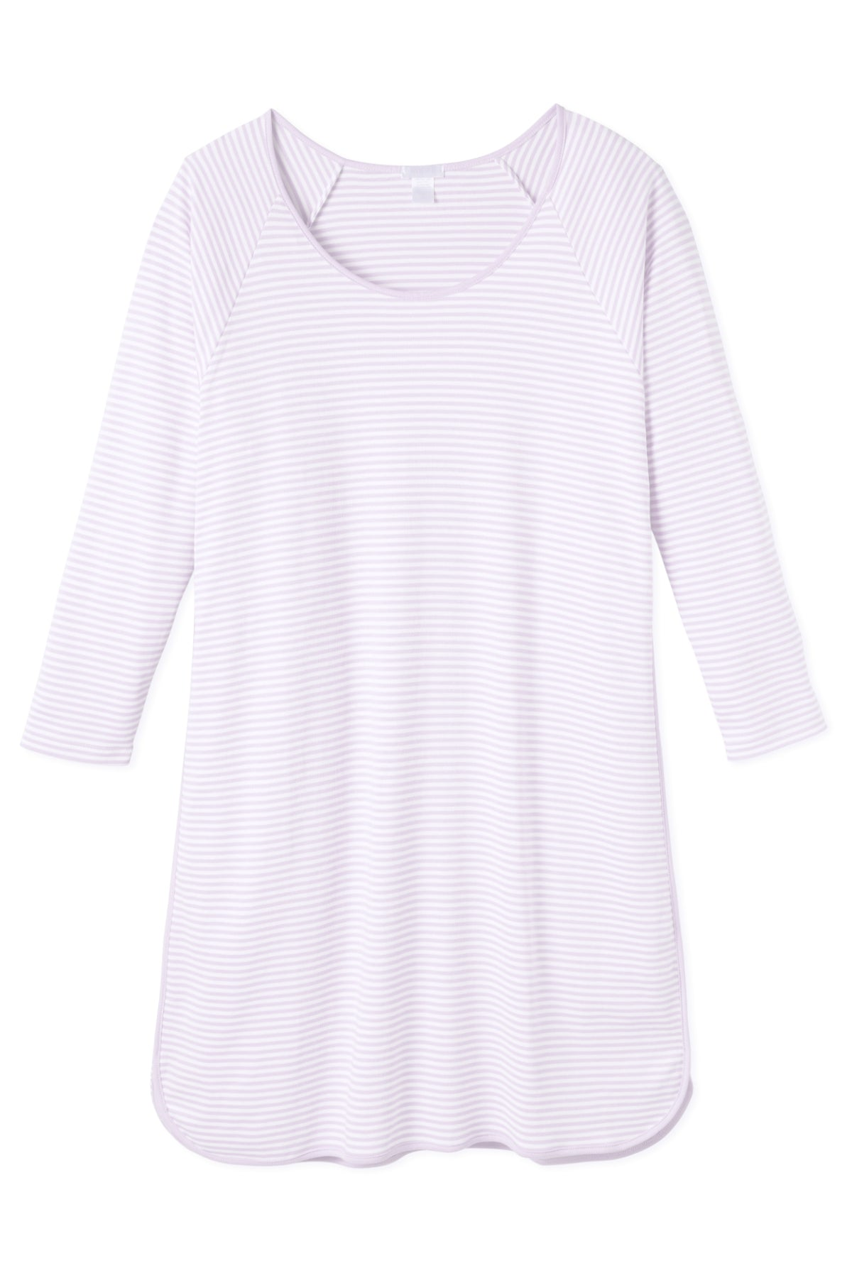 Pima Long Sleeve Nightgown in Lavender