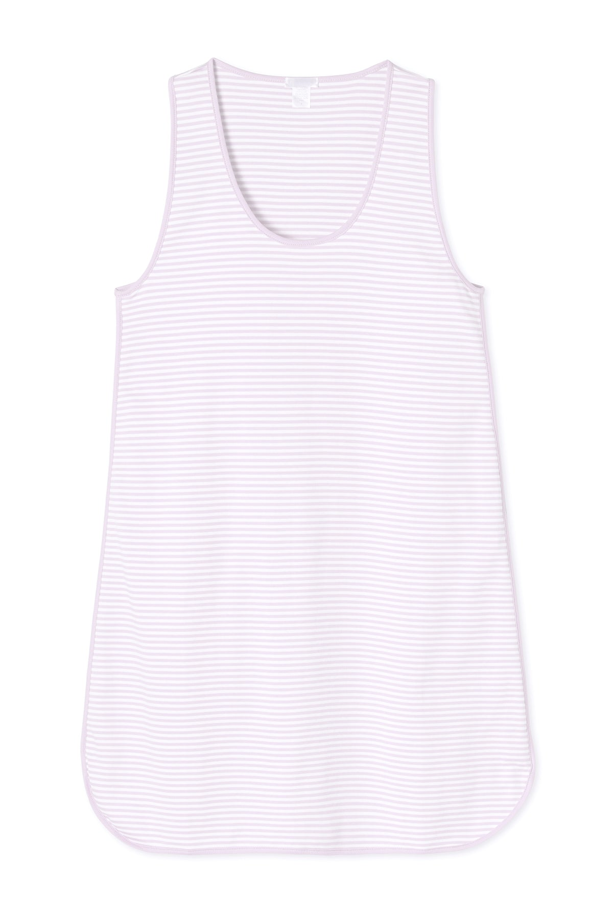 Pima Tank Gown in Lavender