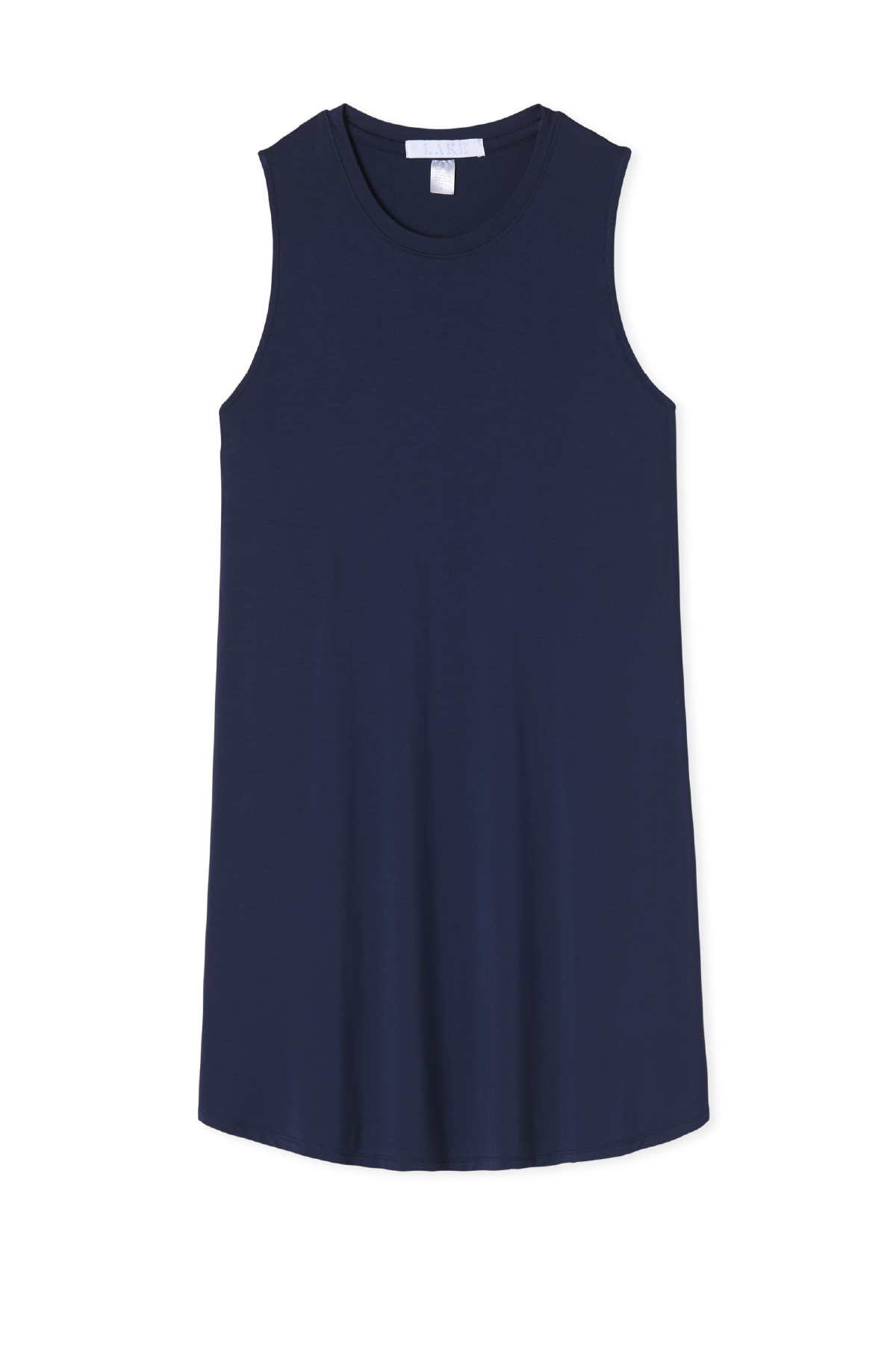 Bamboo Tank Gown in Navy