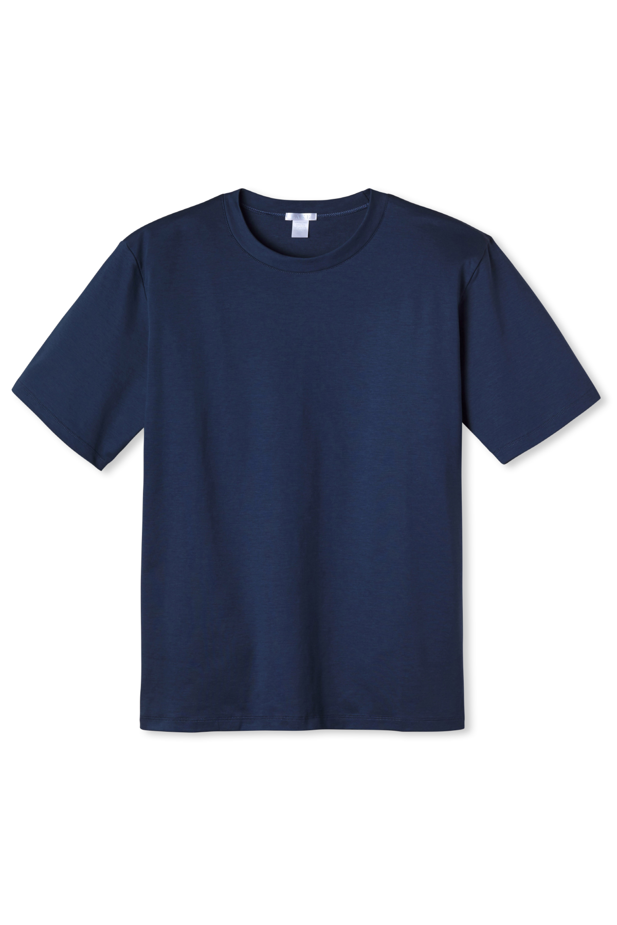 Men's Short Sleeve Pima Tee in True Navy