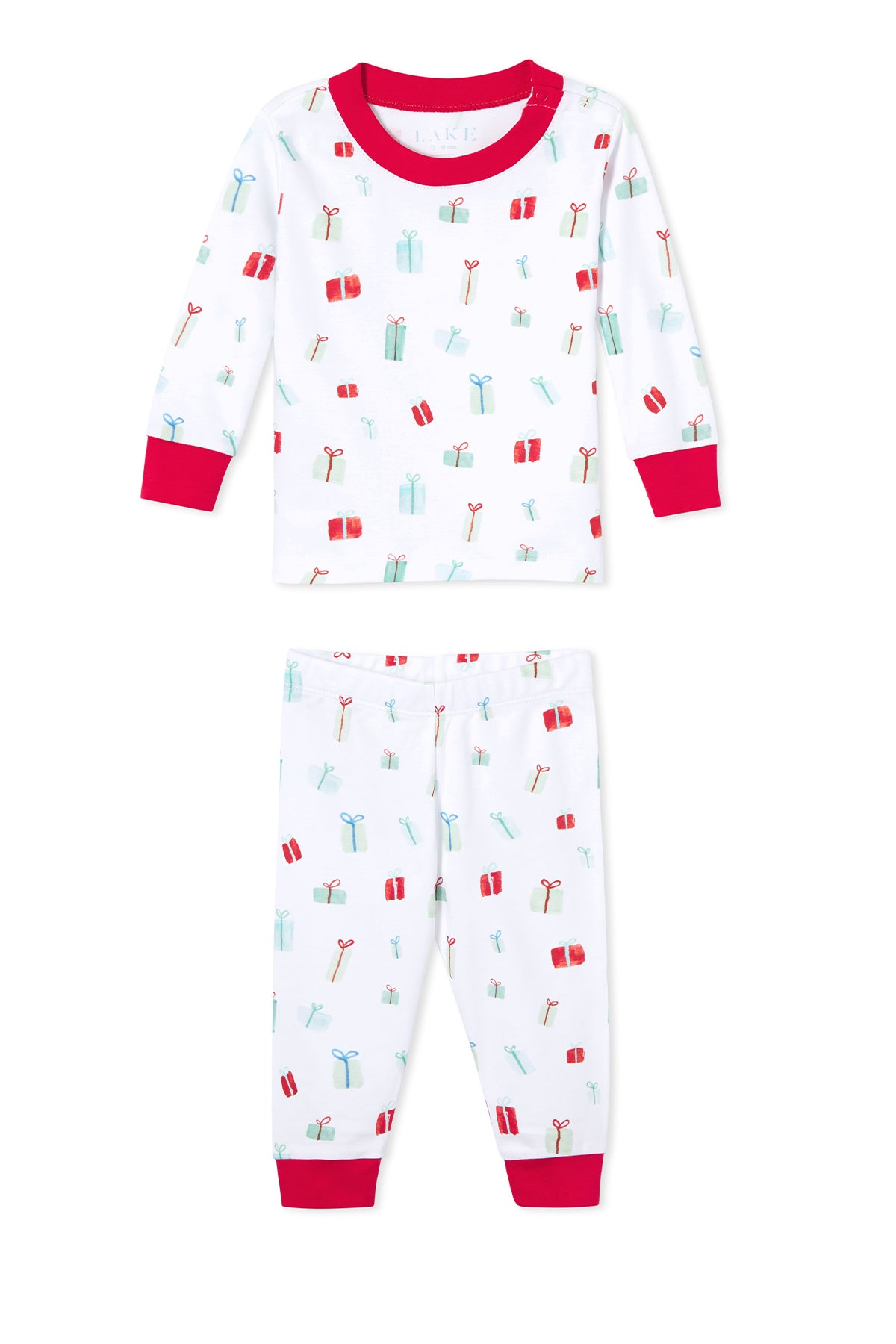 Baby Long-Long Set in Merry