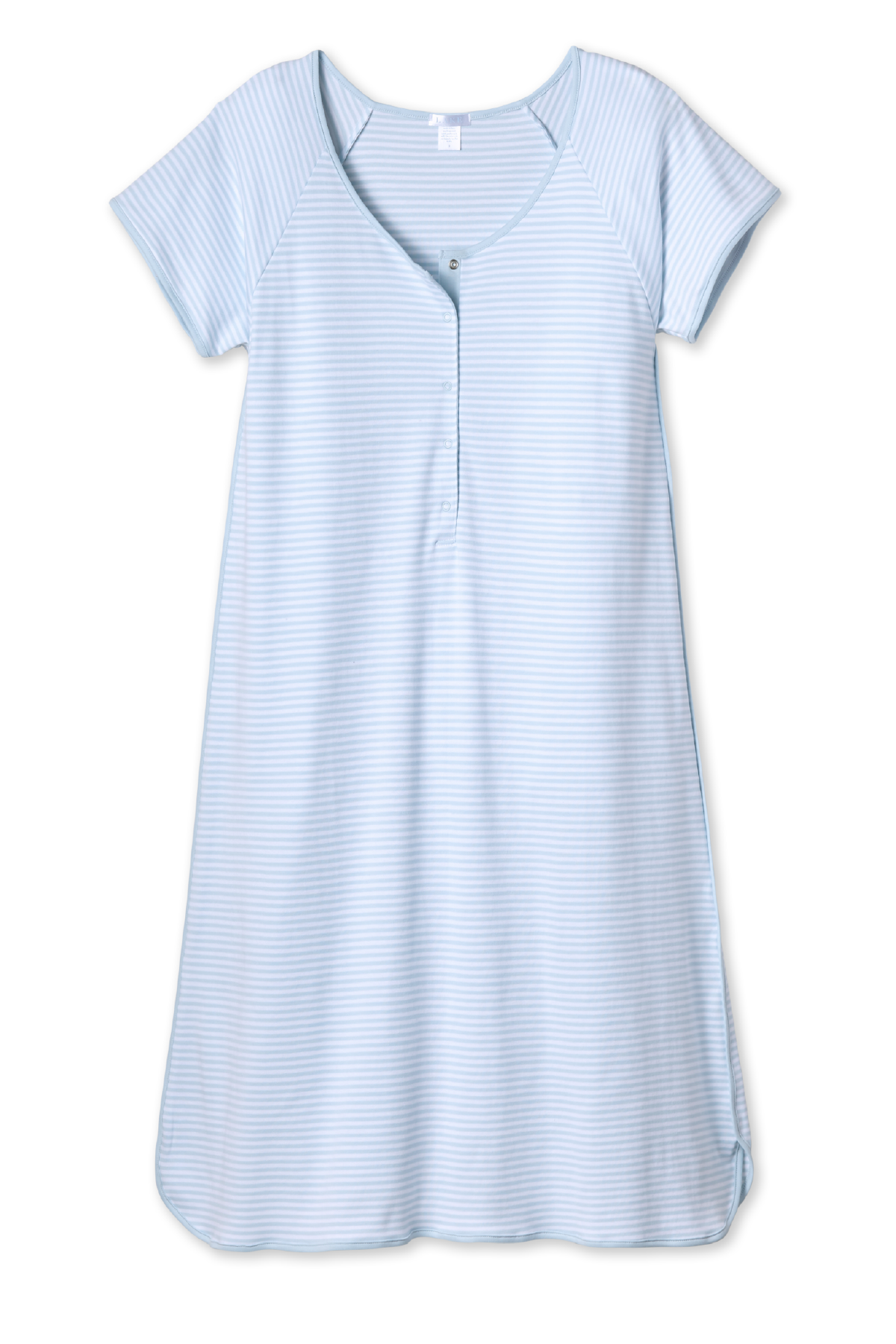 Pima Maternity Nightgown in Porcelain