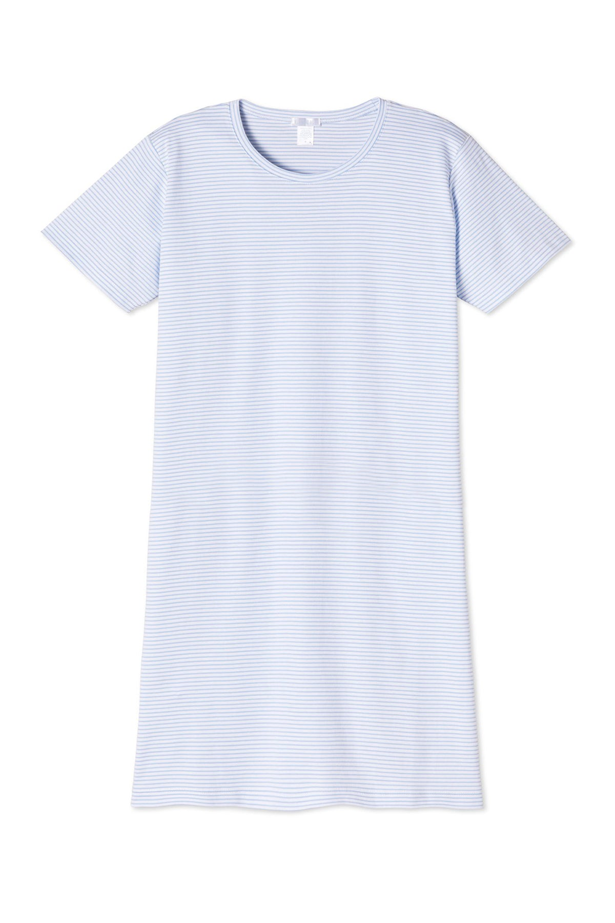 Pima Weekend Nightgown in French Blue
