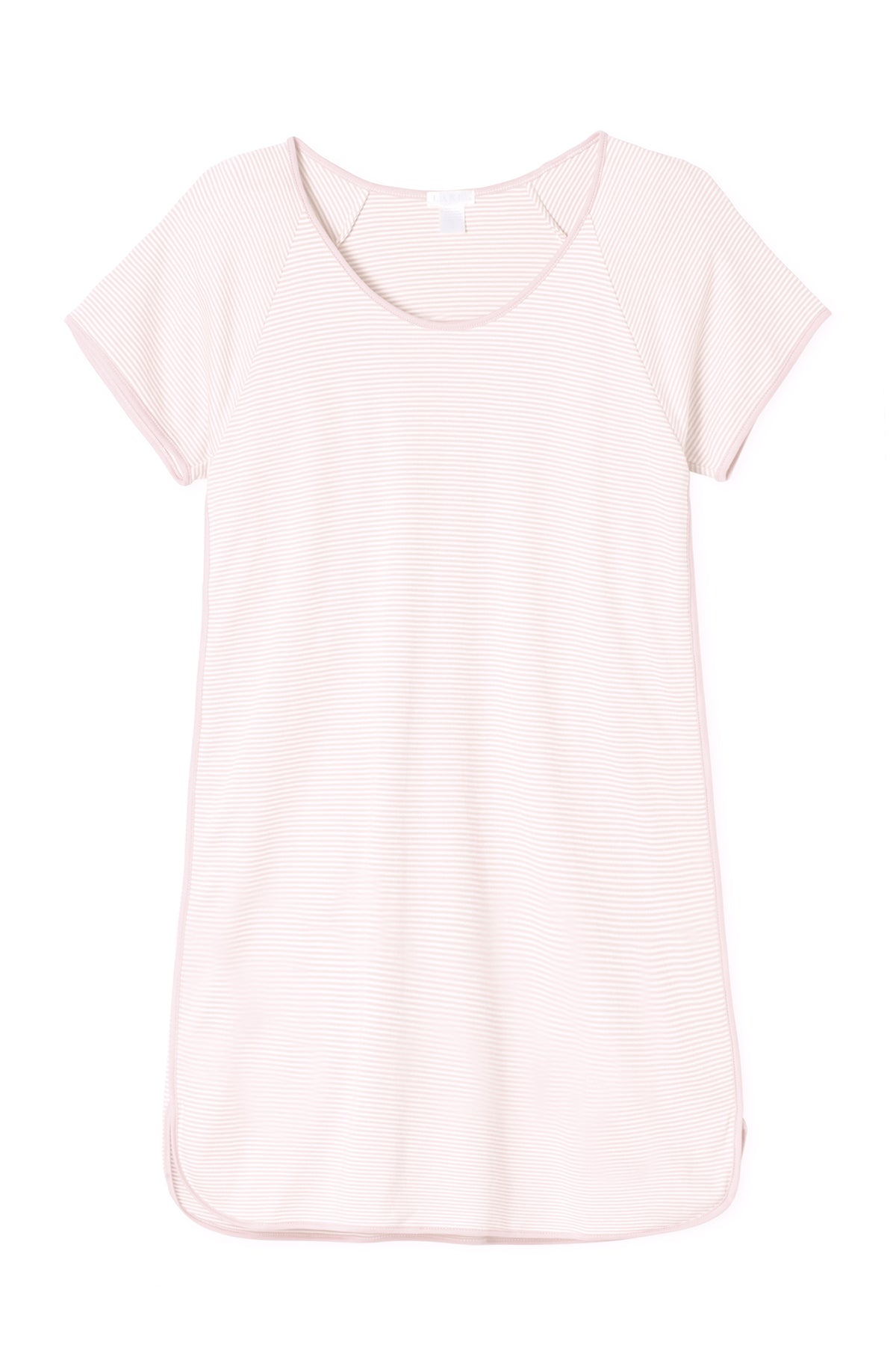 Pima Nightgown in Pale Pink