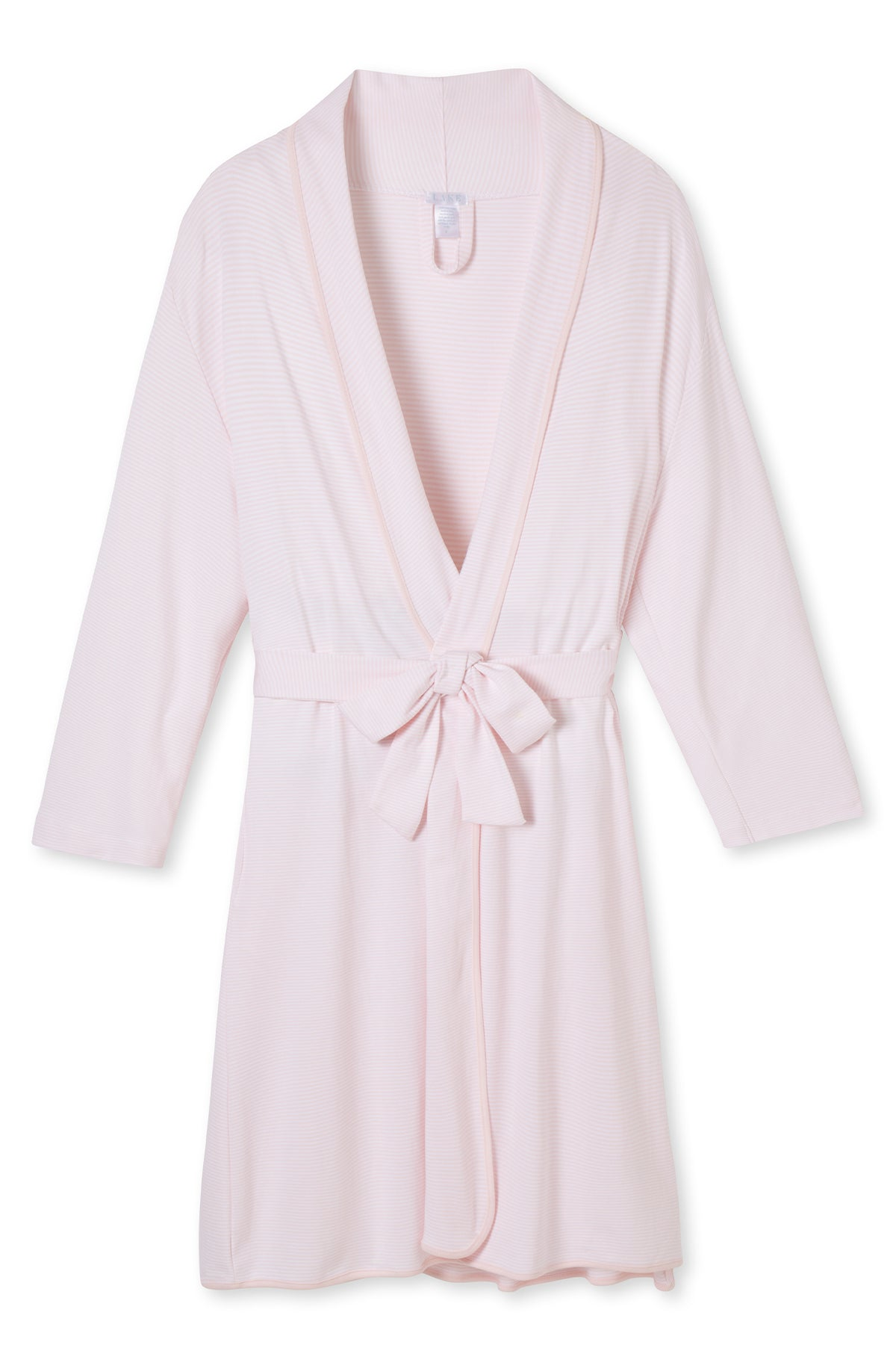 Pima Robe in Pale Pink