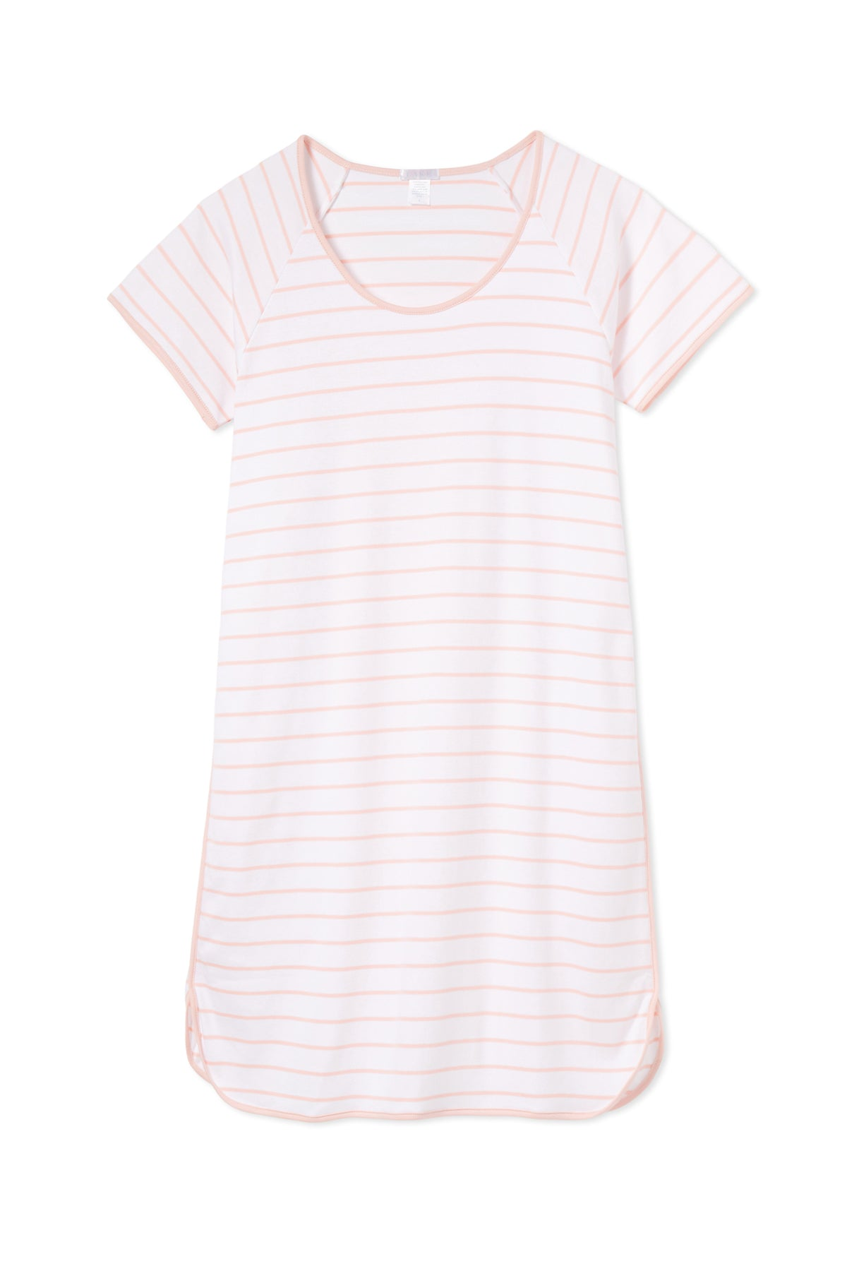 Pima Nightgown in Peach