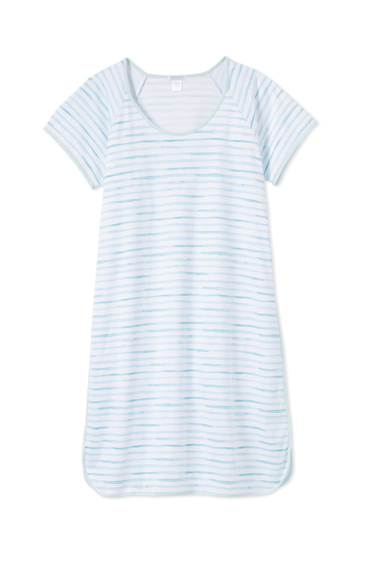 Pima Nightgown in Sea Breeze