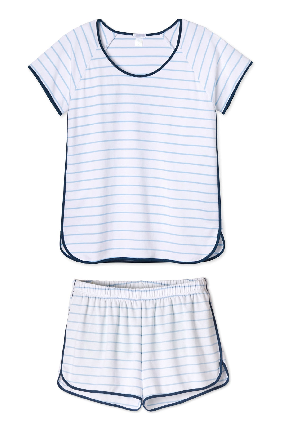 Pima Shorts Set in Marine
