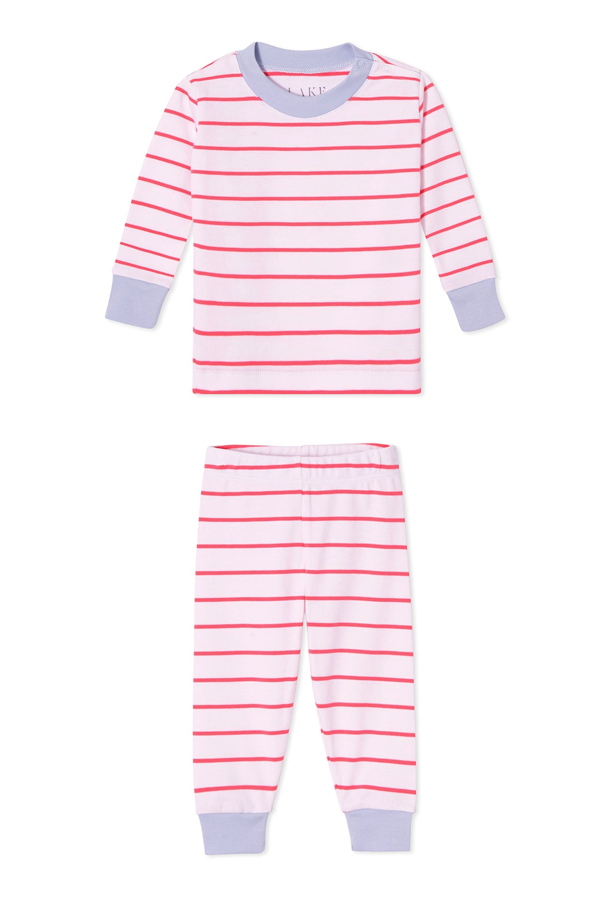 Baby Long-Long Set in Sorbet