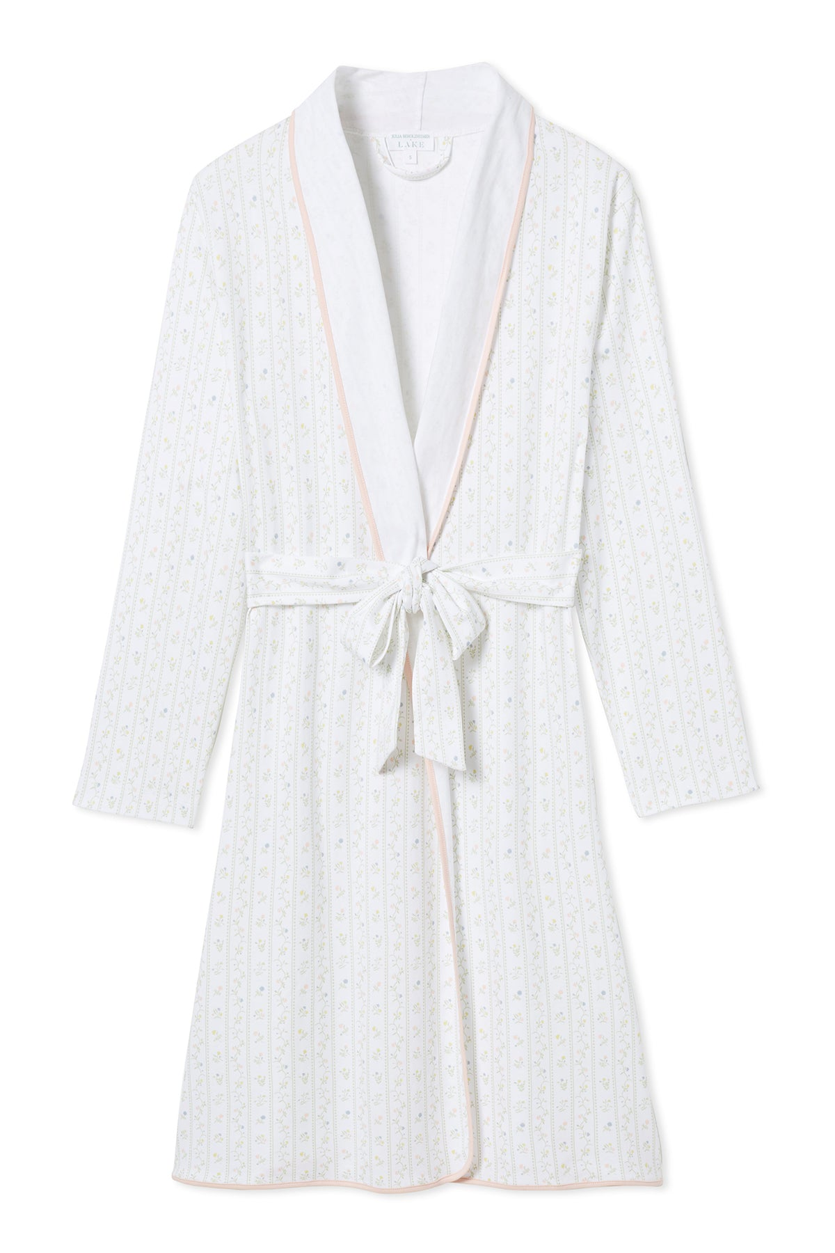 JB x LAKE Pima Robe in Spring Garden