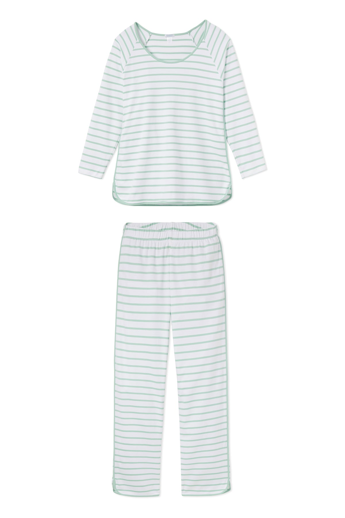 Pima Long-Long Set in Spring Green